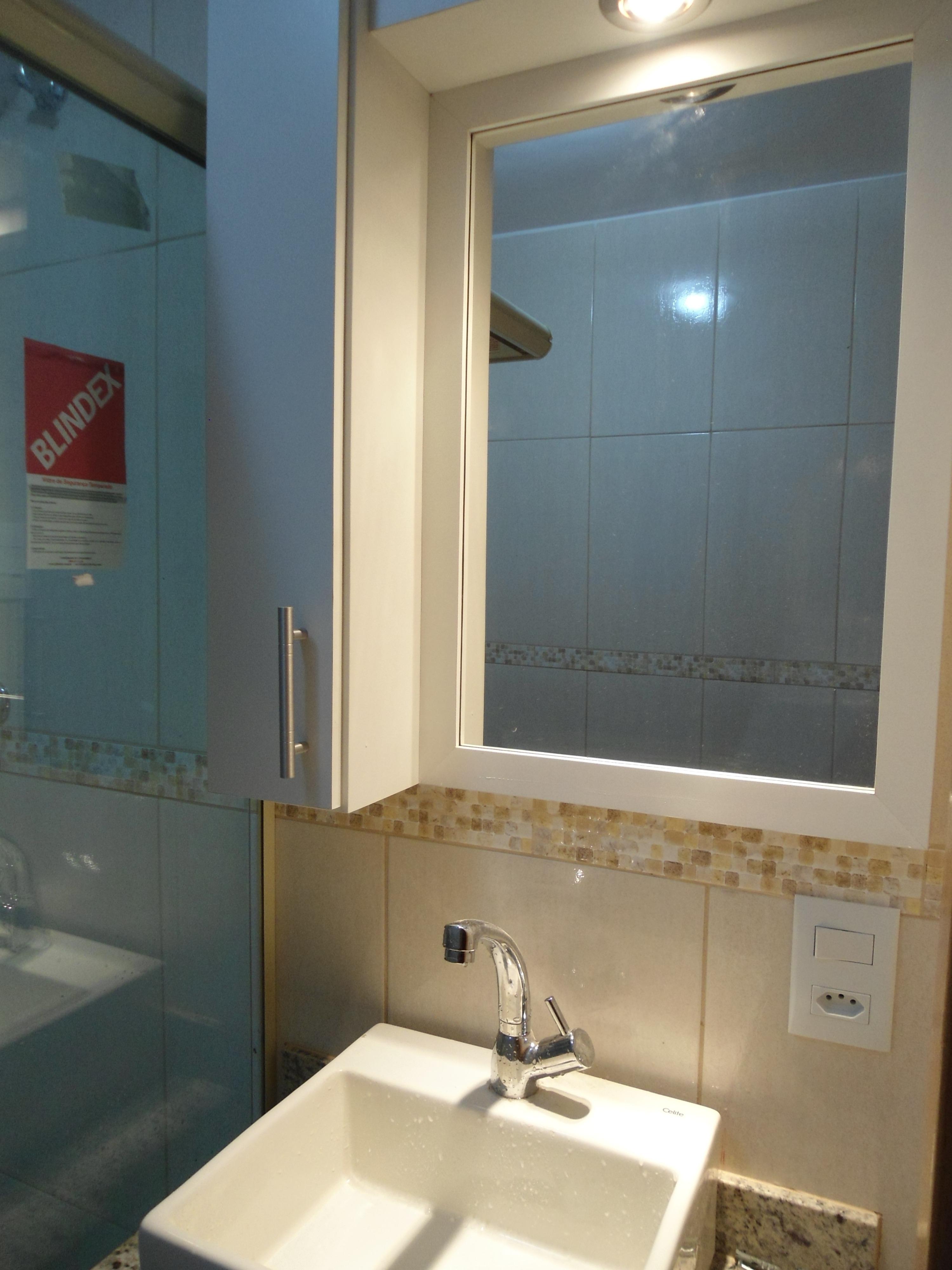 Armário de banheiro  LeandroGPmóveis  Elo7 -> Armario De Banheiro Aura