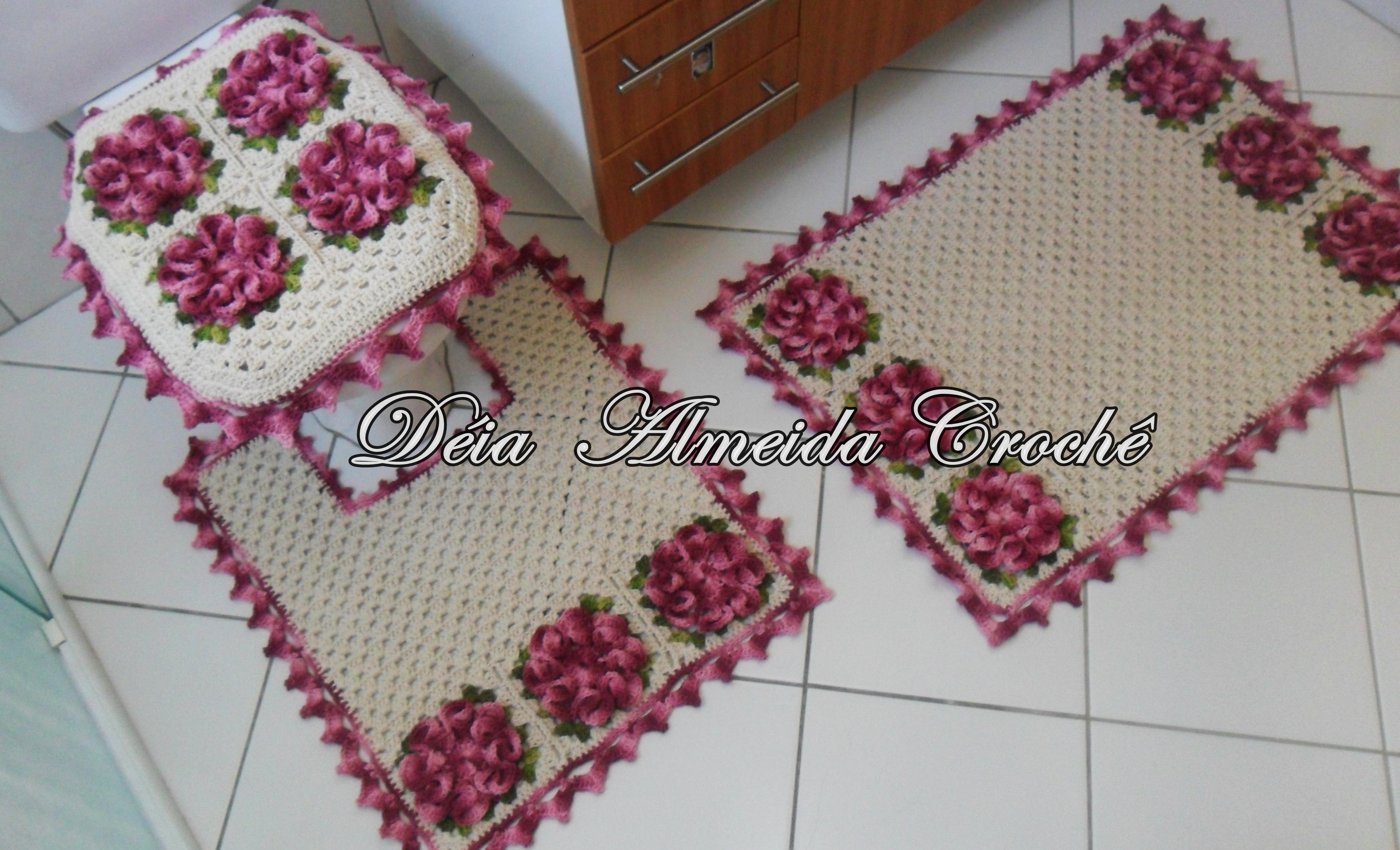 Tapete Floral Para Banheiro : banheiro flor camelia jogo de banheiro jogo de banheiro flor camelia