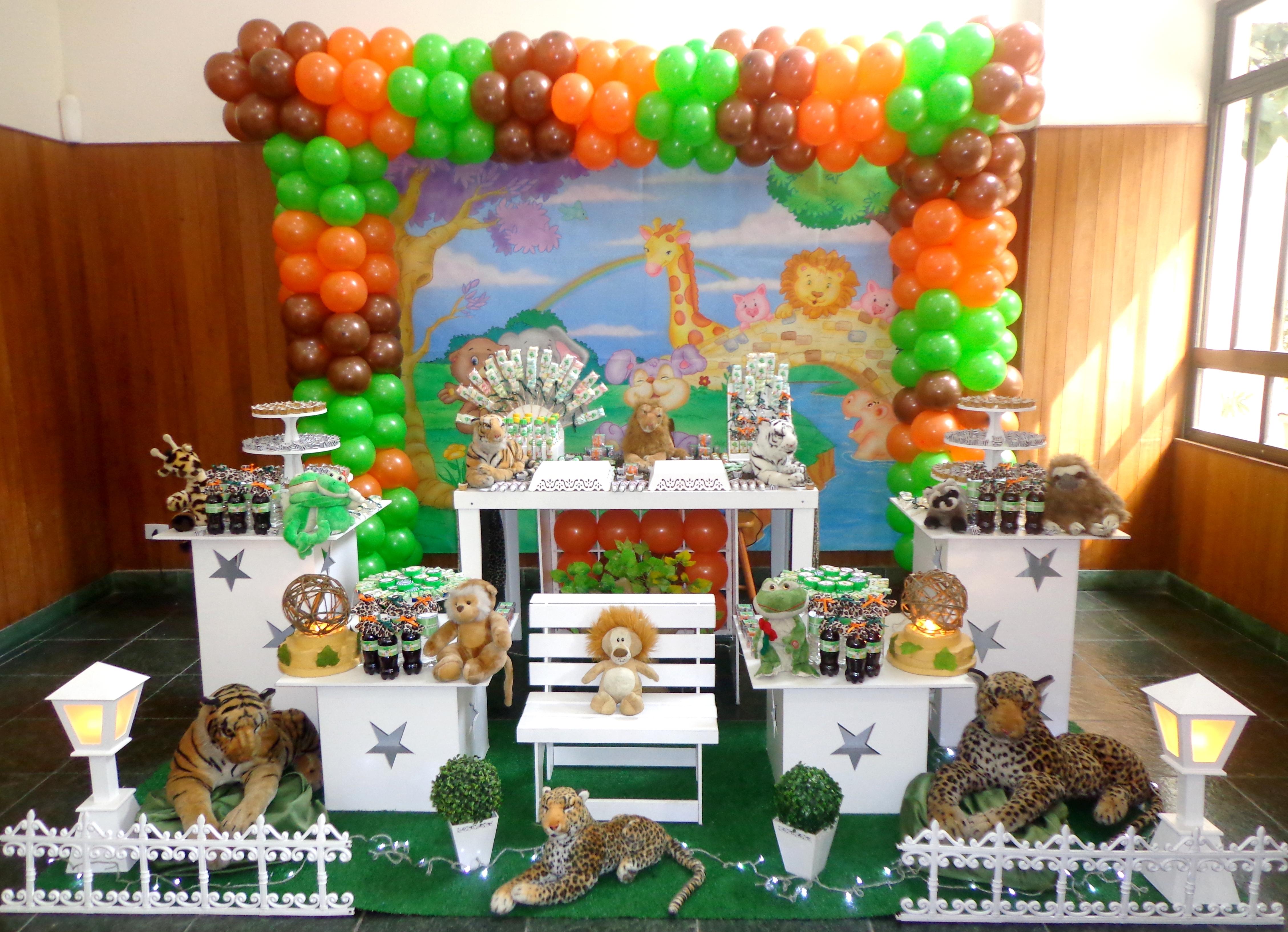 decoracao festa safari: – Safari / Floresta Decoração Provençal – Safari / Floresta