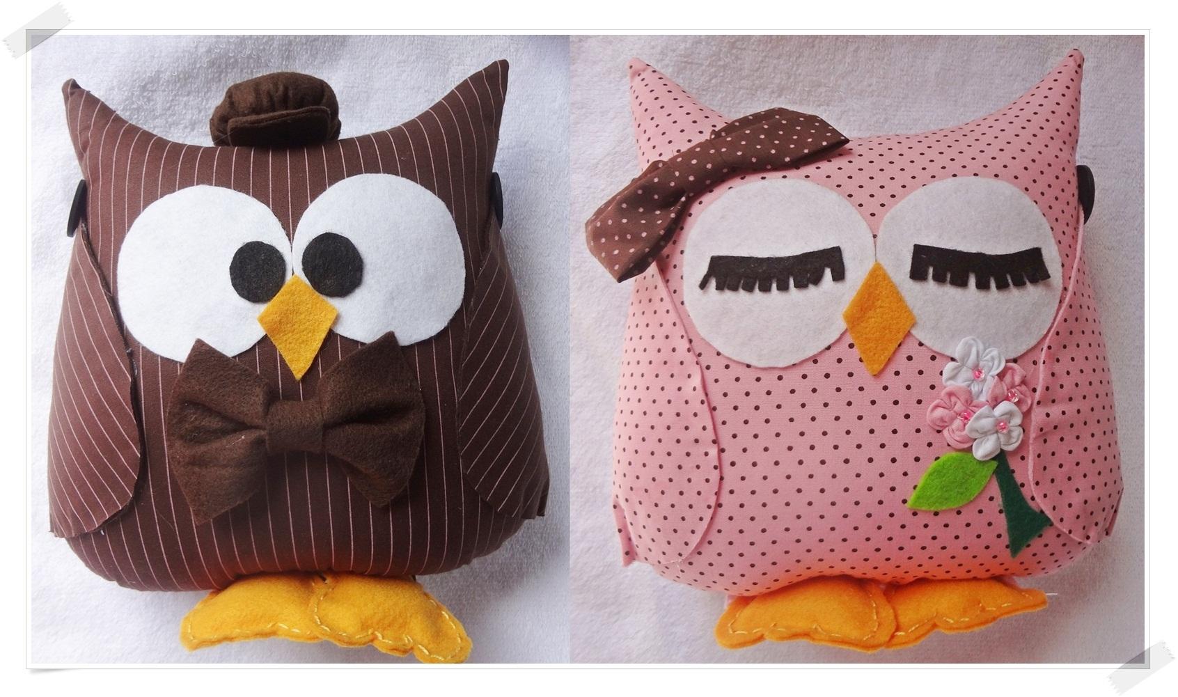 almofadas casal coruja padrinho almofadas casal coruja namorados