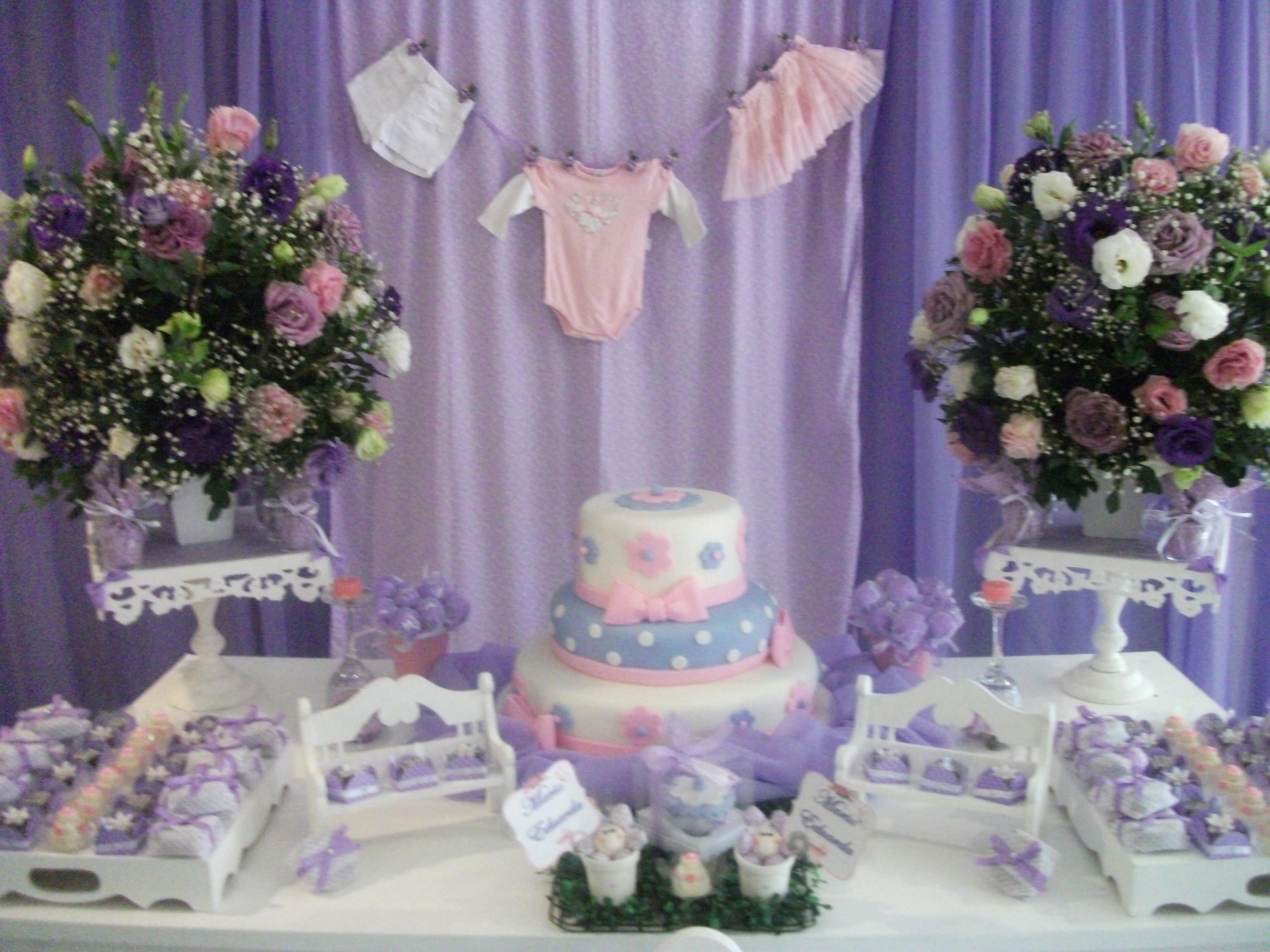 decoracao provencal cha de bebe lilas decoracao provencal decoracao