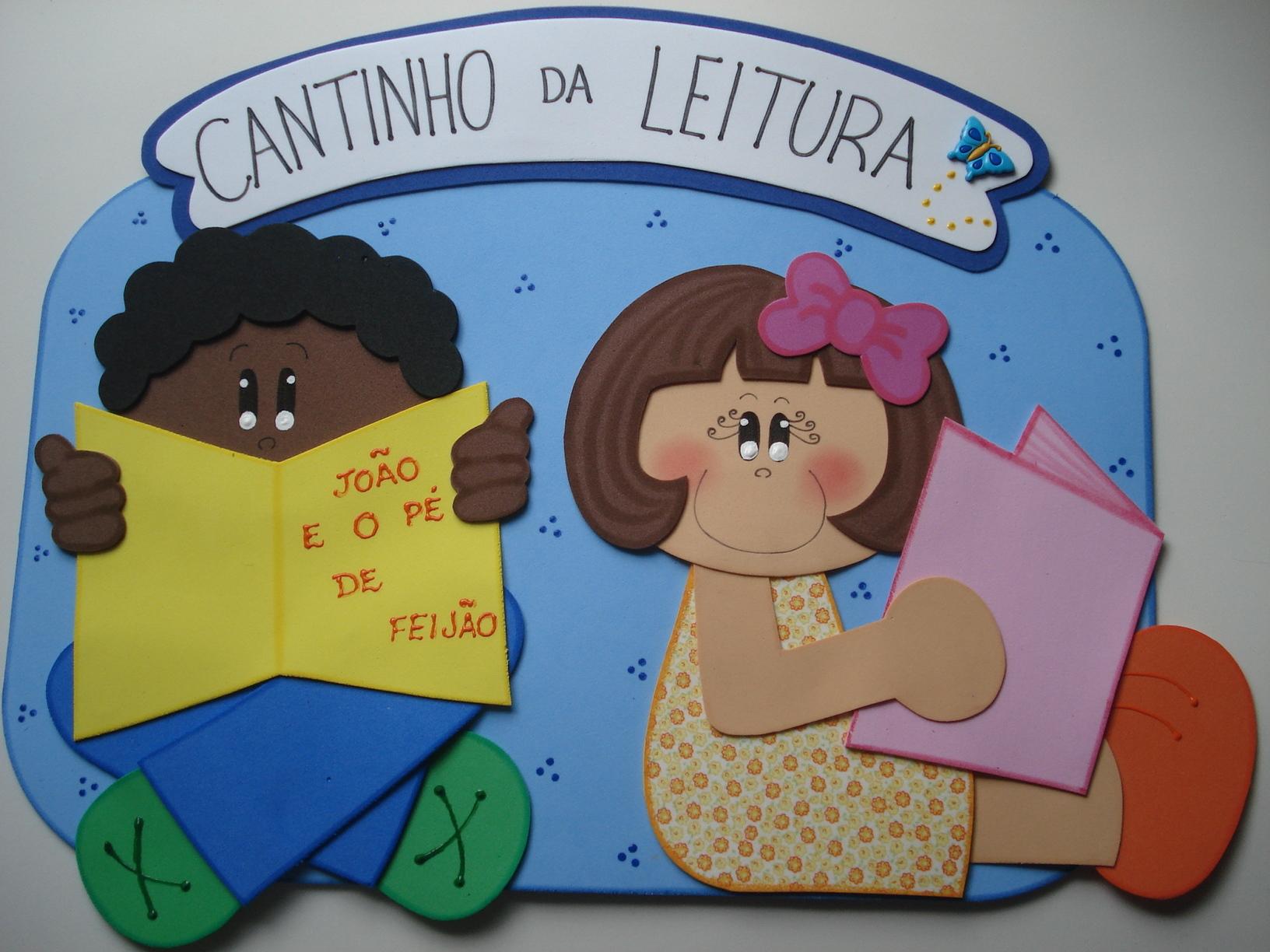 decoracao sala de leitura na escola:plaquinha-cantinho-da-leitura-leitura