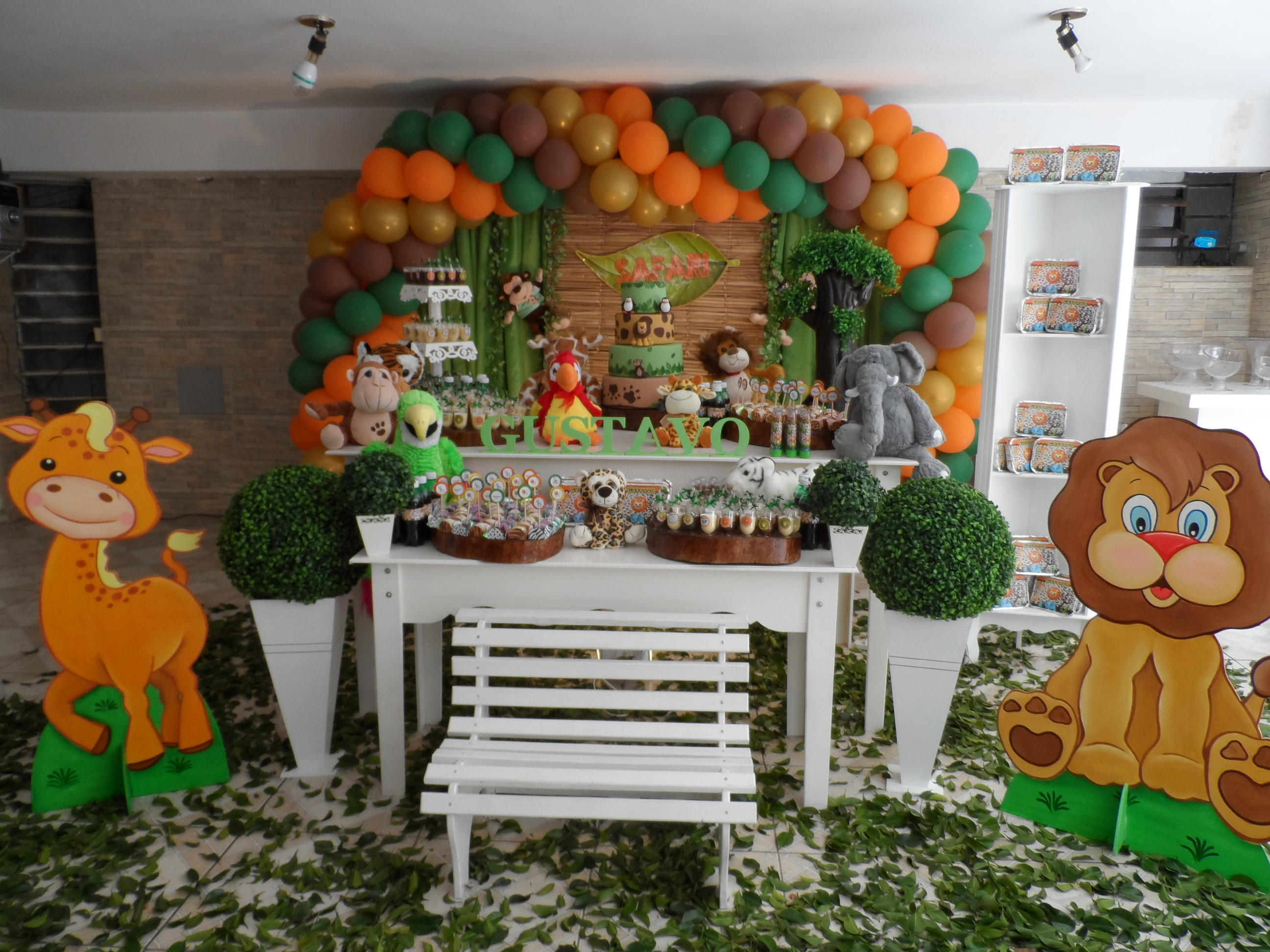decoracao festa safari : decoracao festa safari:Festa Safari Infantil
