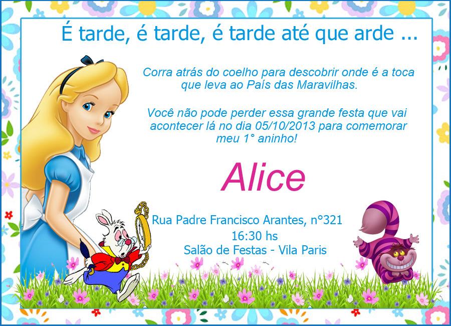 Alice In Wonderland Invitations for perfect invitation template