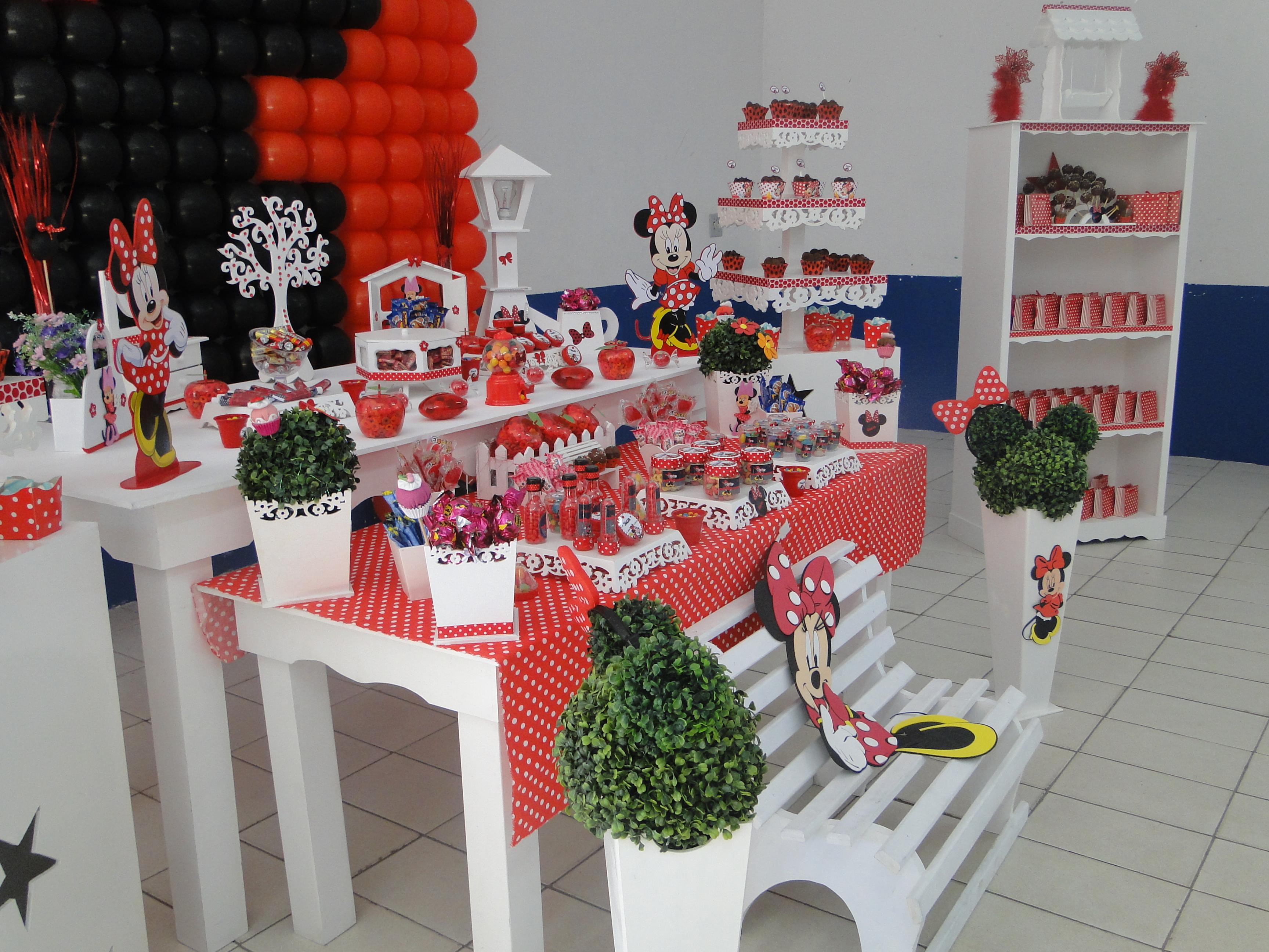decoracao provencal minnie vermelha infantil decoracao provencal
