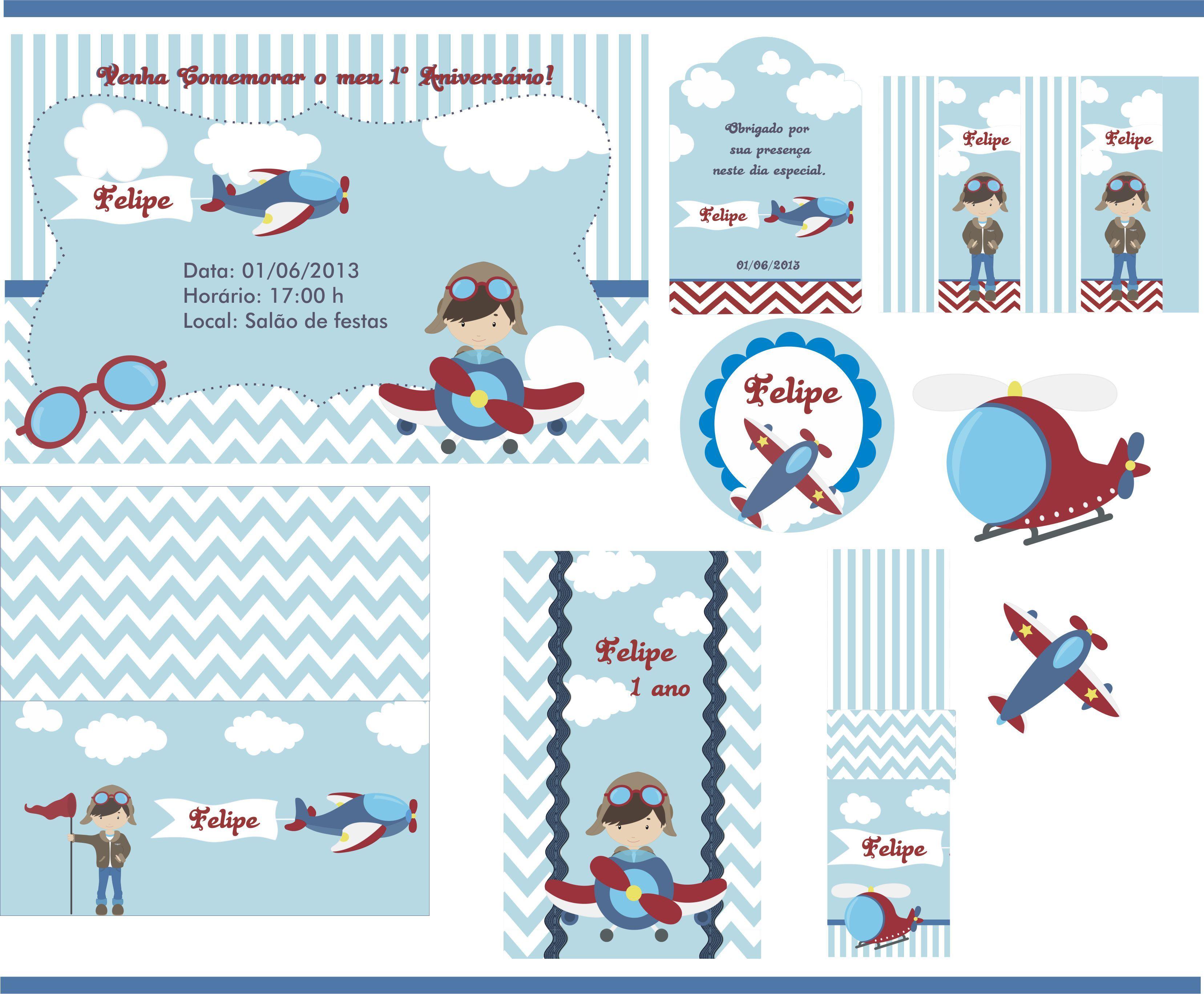 festa menino aviador kit festa aviao festa menino aviador festa piloto