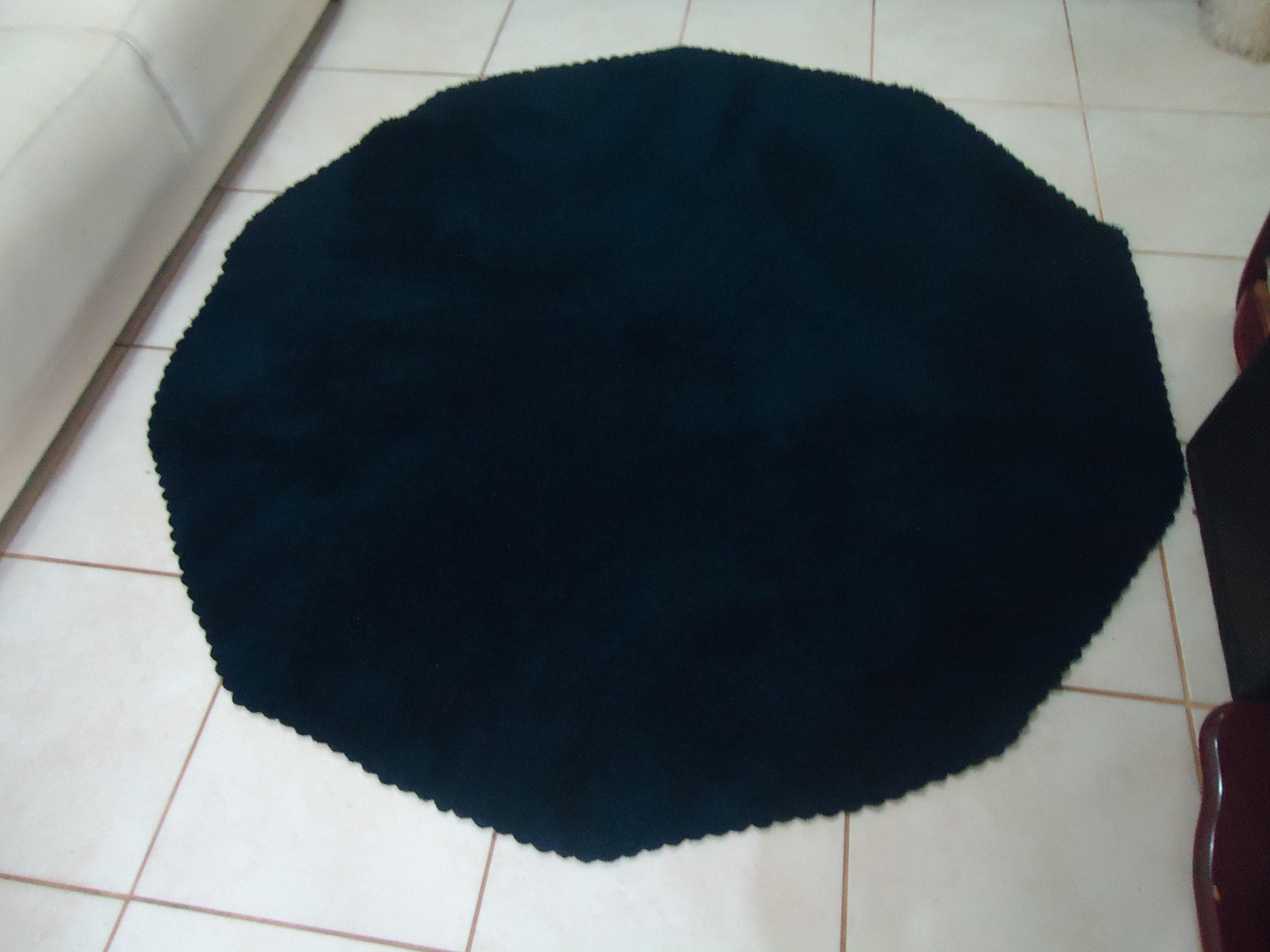 tapete azul marinho peludinho tapete #0A161F 4320 3240