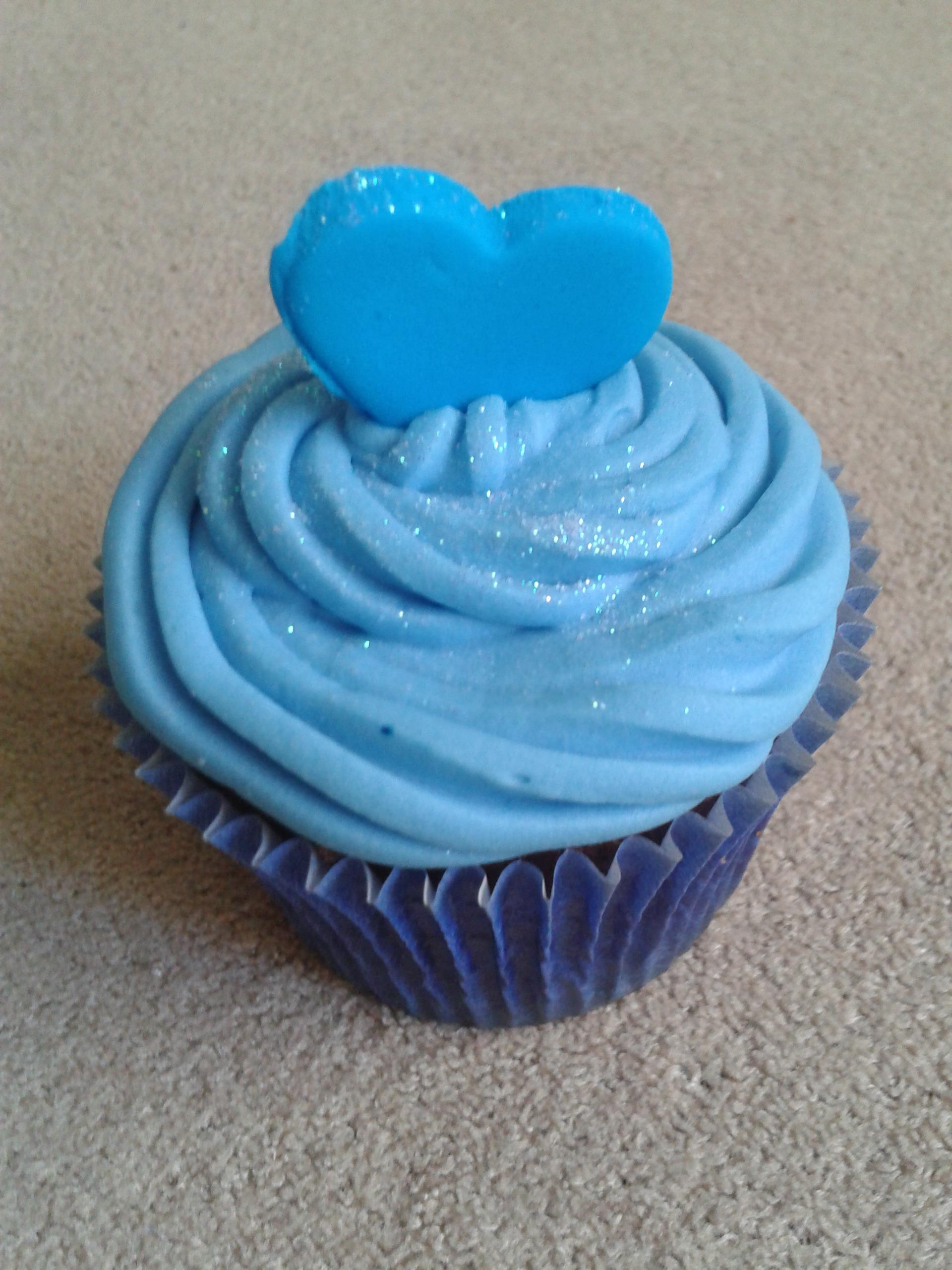 Sweet Cake Cupcake 2 Azul