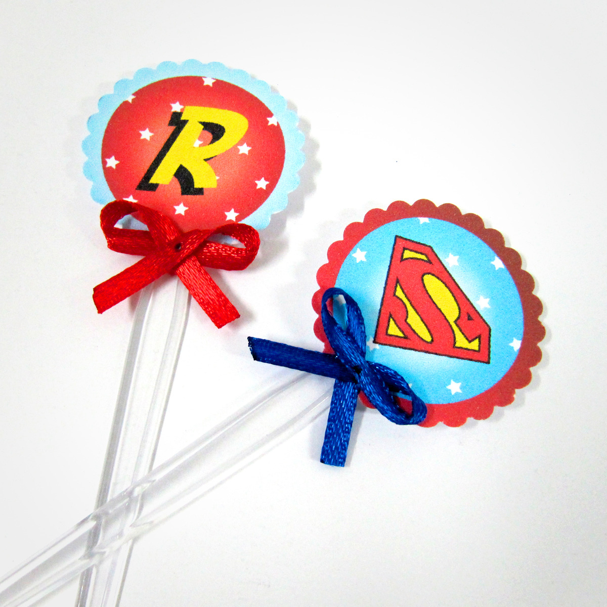 Superman Topper Cake Ideas and Designs