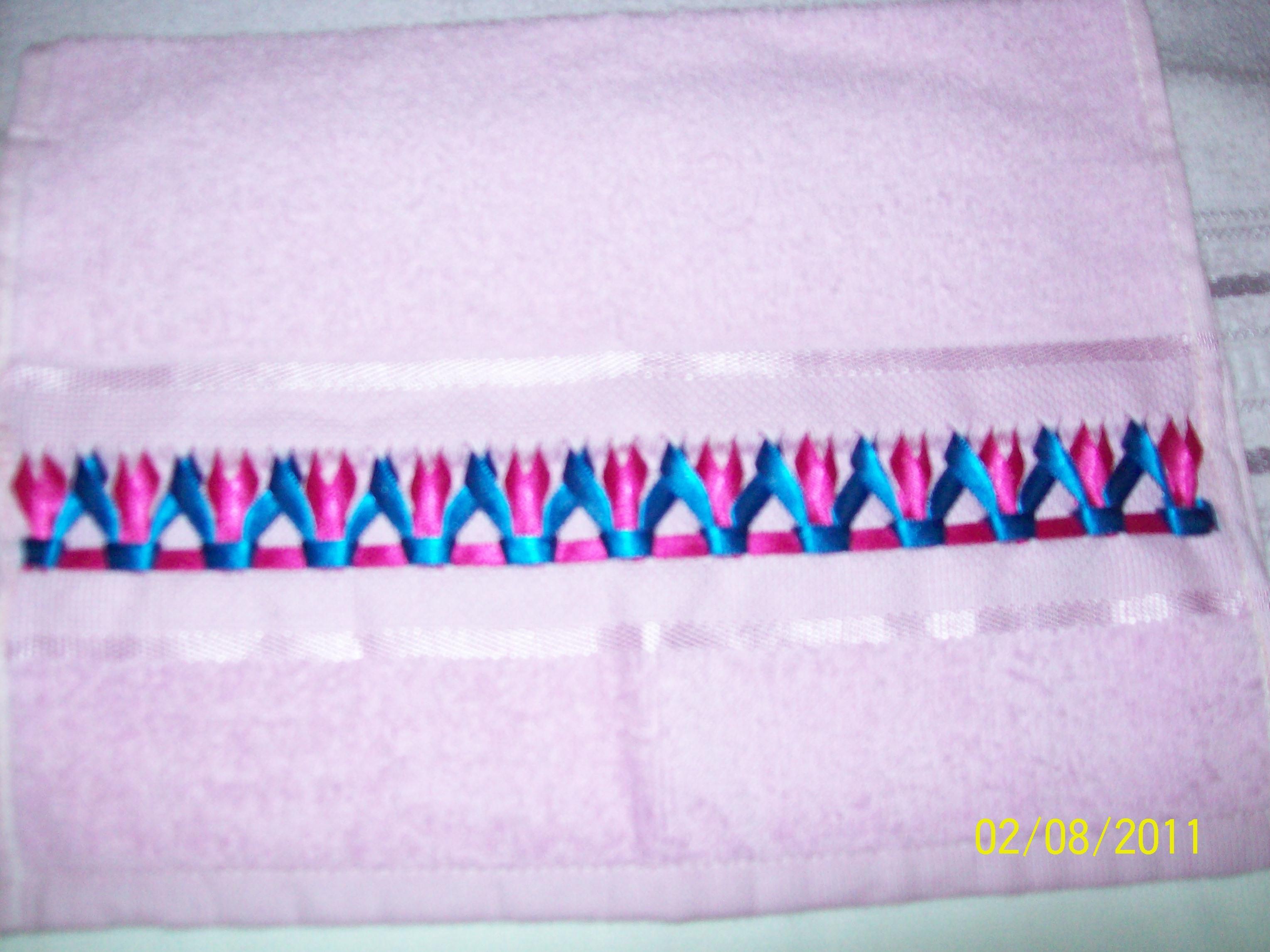 decoracao toalha lavabo:toalha bordado toalha lavabo trancado em fitas fita toalha lavabo