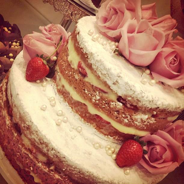 Naked Cake de Brownie - Amando Cozinhar: Receitas Fáceis e