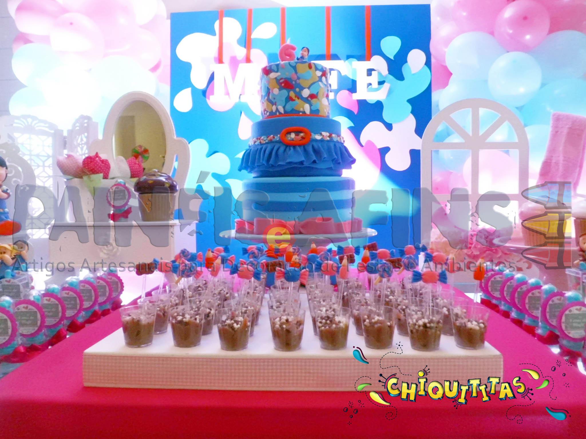 decora o festa infantil das chiquititas