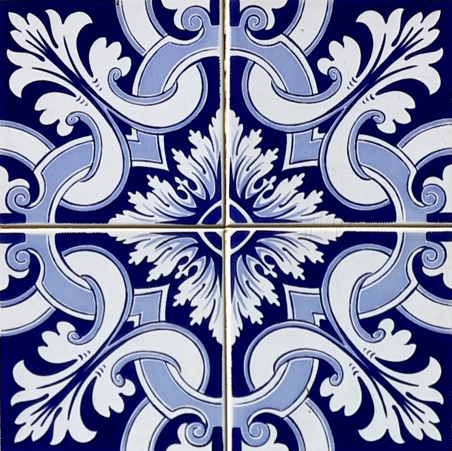 Azulejo adesivo az096 arabesco design elo7 for Azulejo sobre azulejo