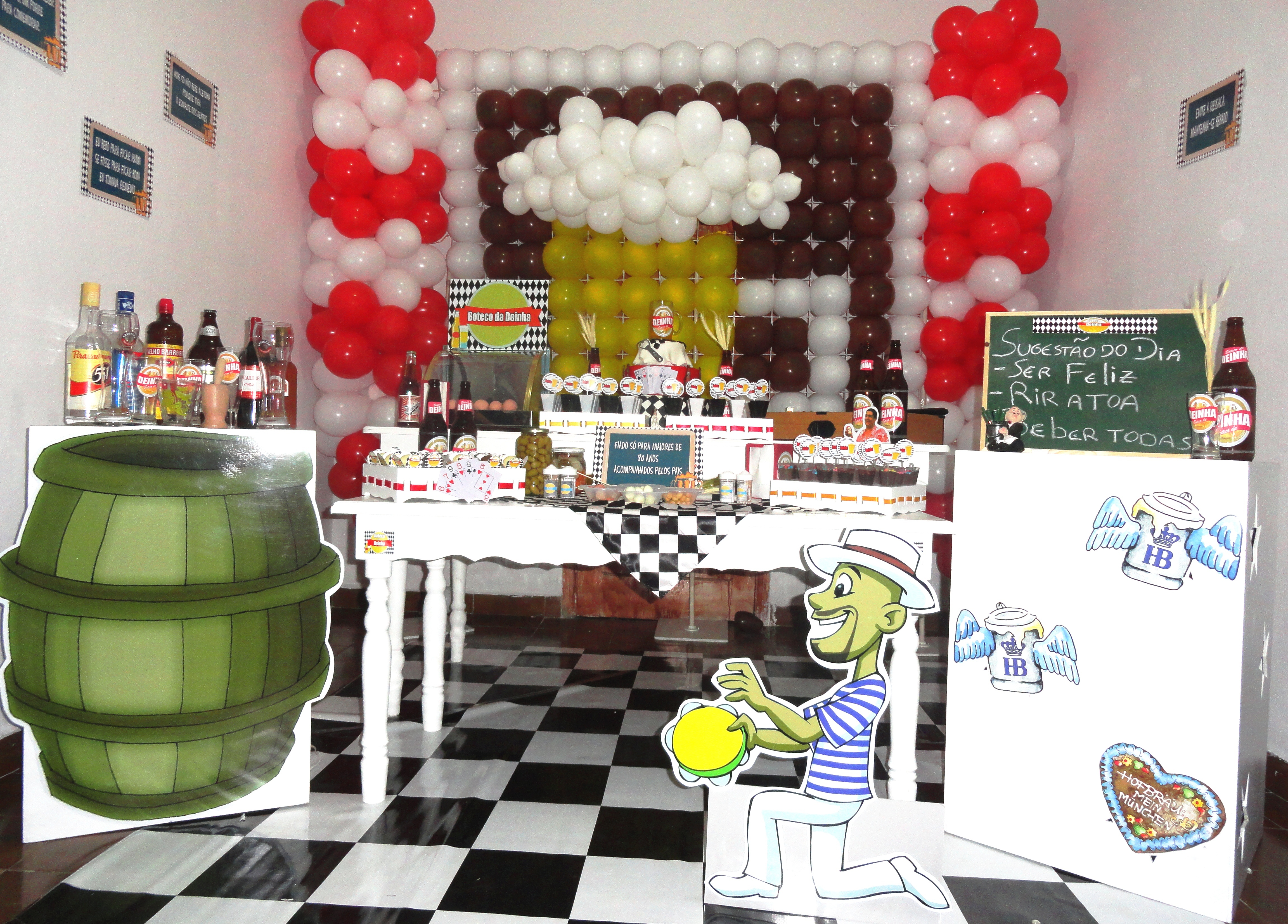 decoracao de mesa boteco : decoracao de mesa boteco:decoracao-boteco-boteco
