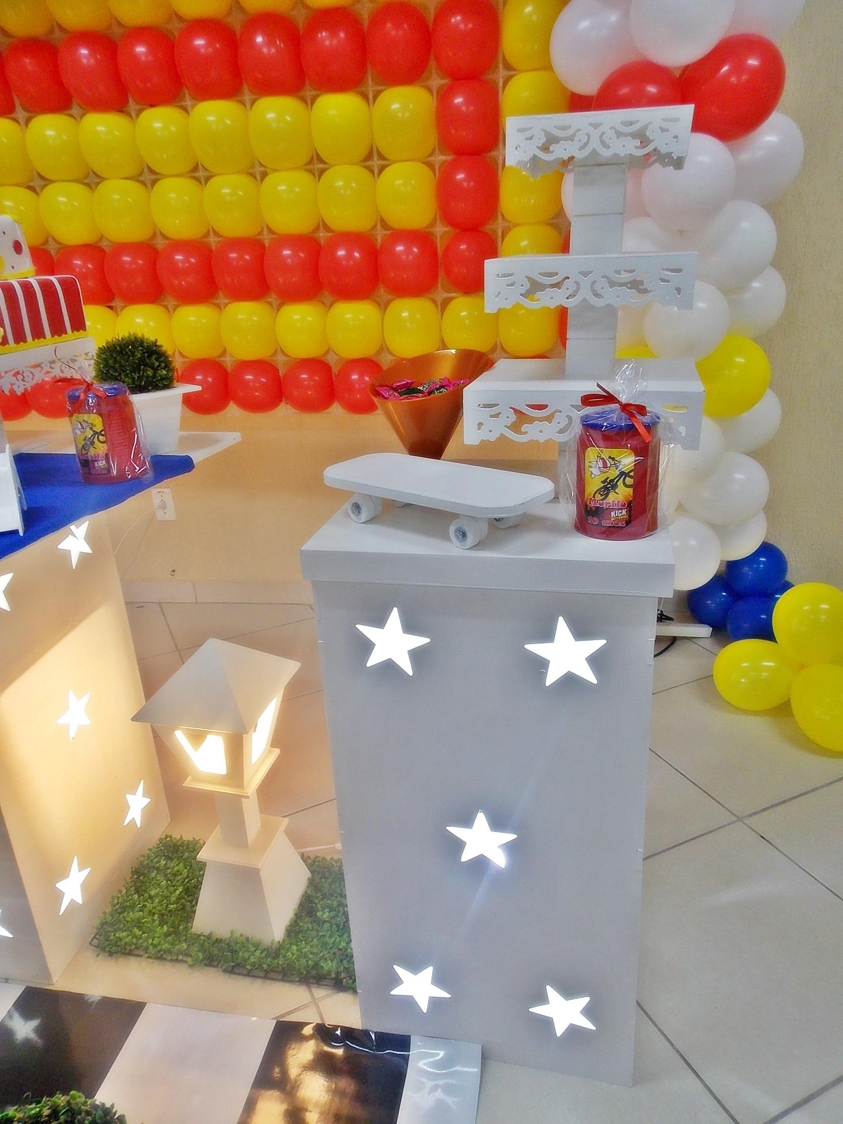decoracao festa infantil kick buttowski : decoracao festa infantil kick buttowski:decoracao-infantil-kick-buttowski-decoracao-de-festa-infantil