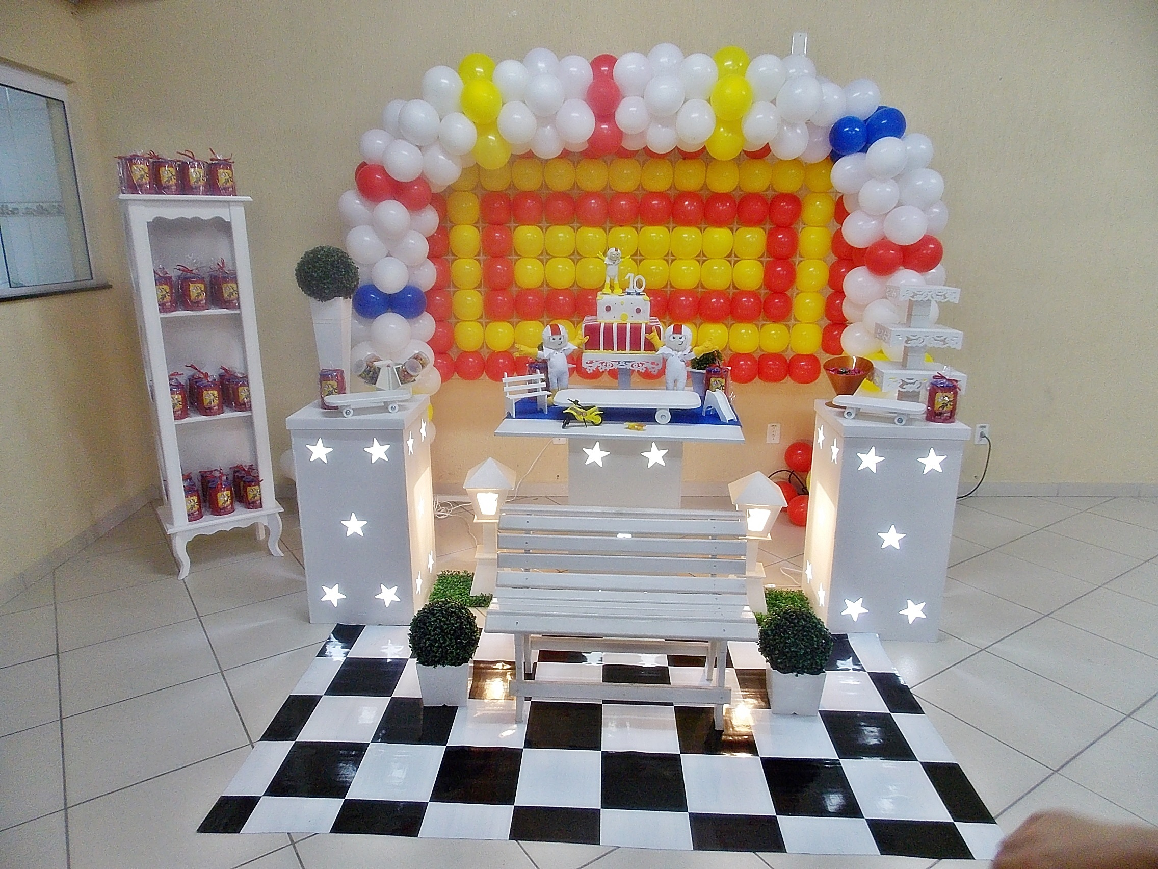 decoracao festa infantil kick buttowski:kick buttowski decoracao infantil kick buttowski decoracao de festa