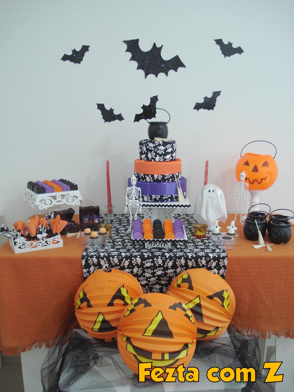 Decoracao Mini Party Halloween Elo7 -> Decoracao Para Mesa Halloween