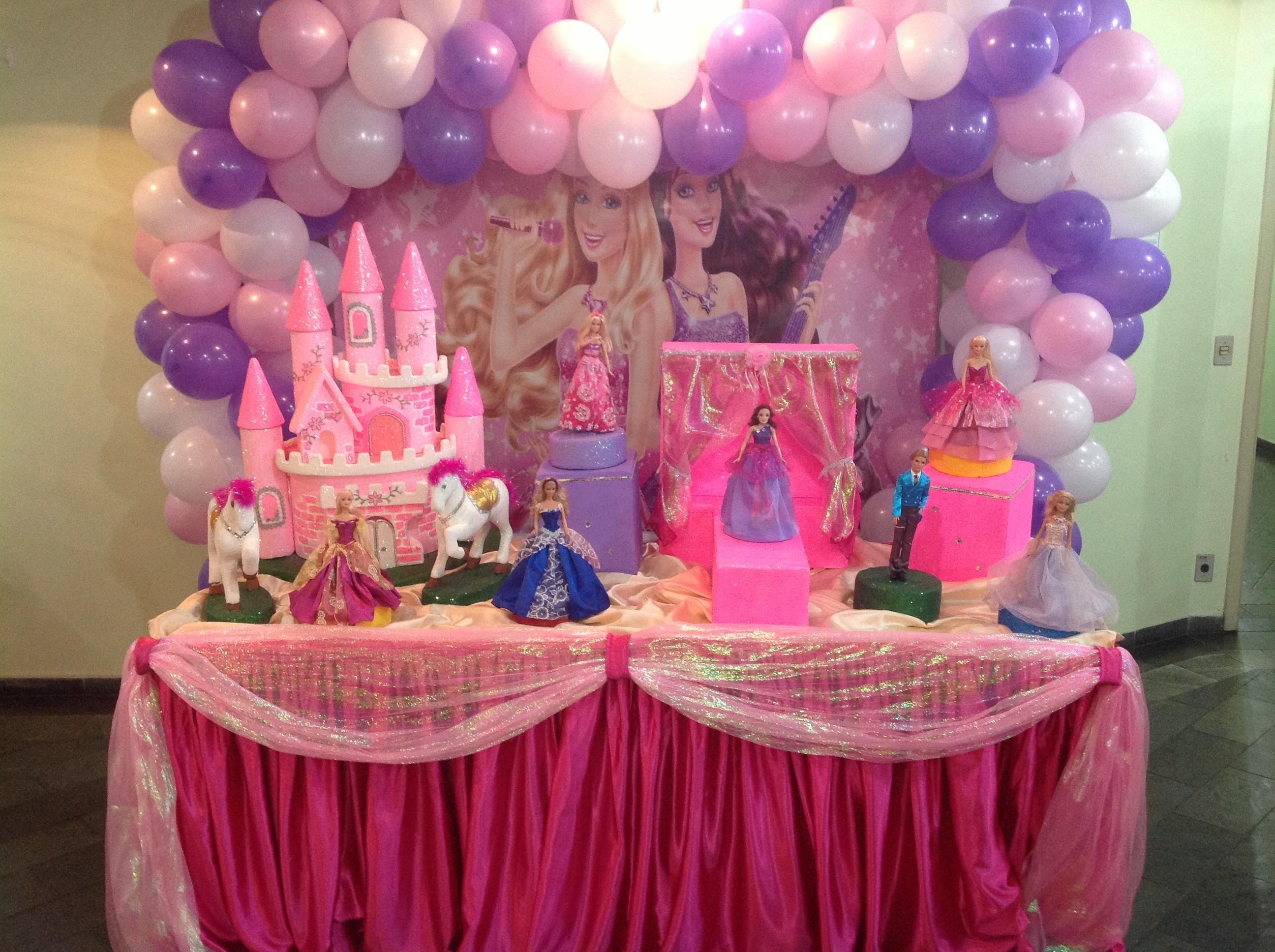 decoracao festa barbie : decoracao festa barbie: pop-star-decoracao-barbie decoracao-barbie-pop-star-decoracao-de-festa