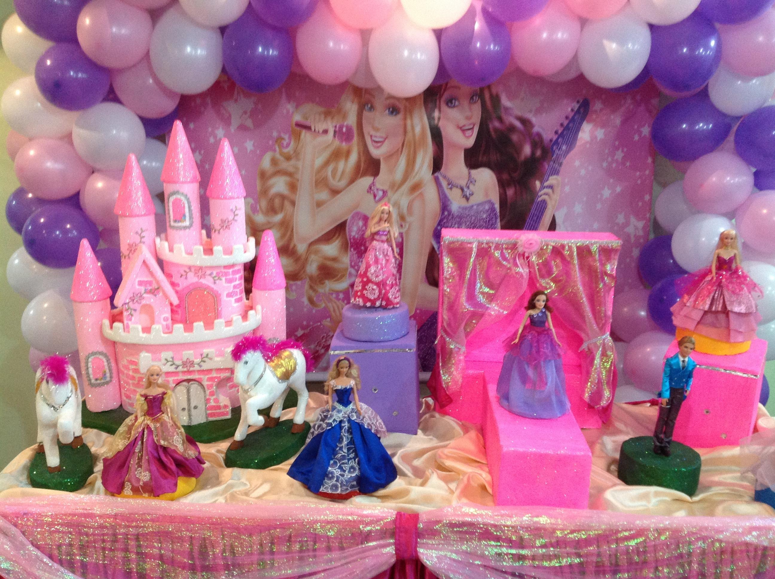 decoracao festa barbie: pop star decoracao barbie decoracao barbie pop star decoracao de festa