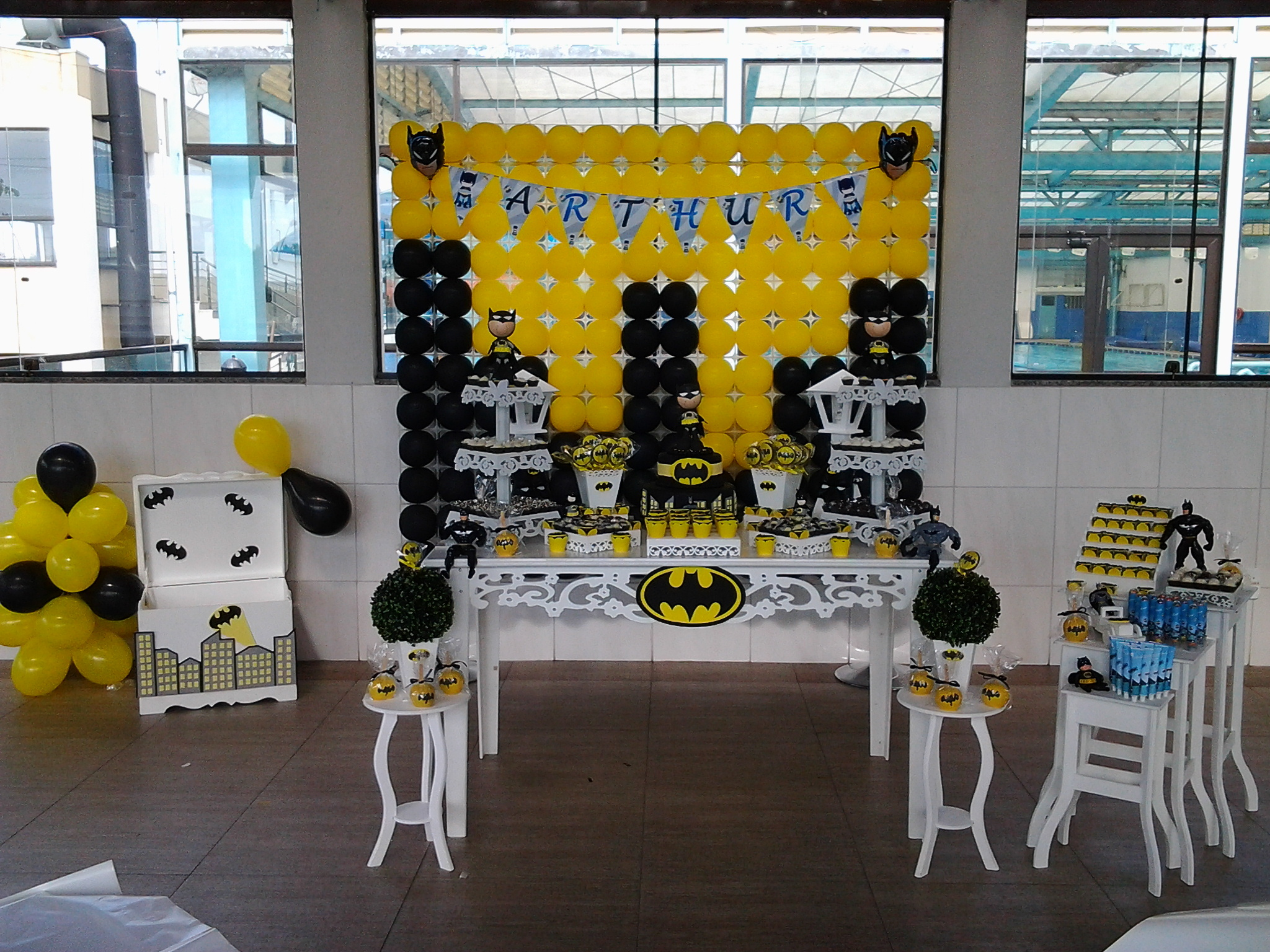 decoracao festa batman : decoracao festa batman:festa batman festa decoracao festa batman aniversario decoracao festa