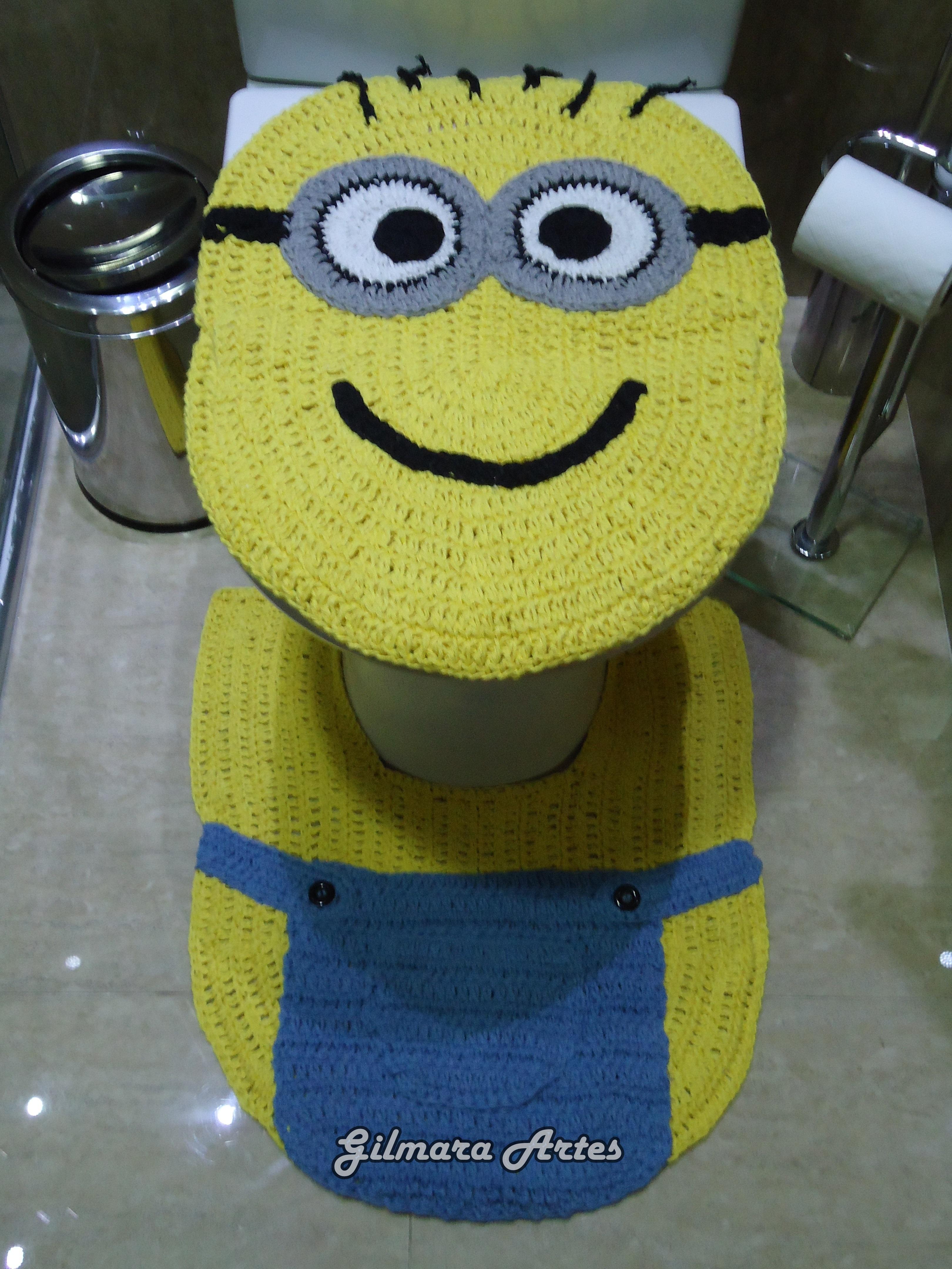 Tapete Minions De Croche : minions-tapete-bnh-074-jg-c-03-pcs-minion minions-tapete-bnh-074-jg-c