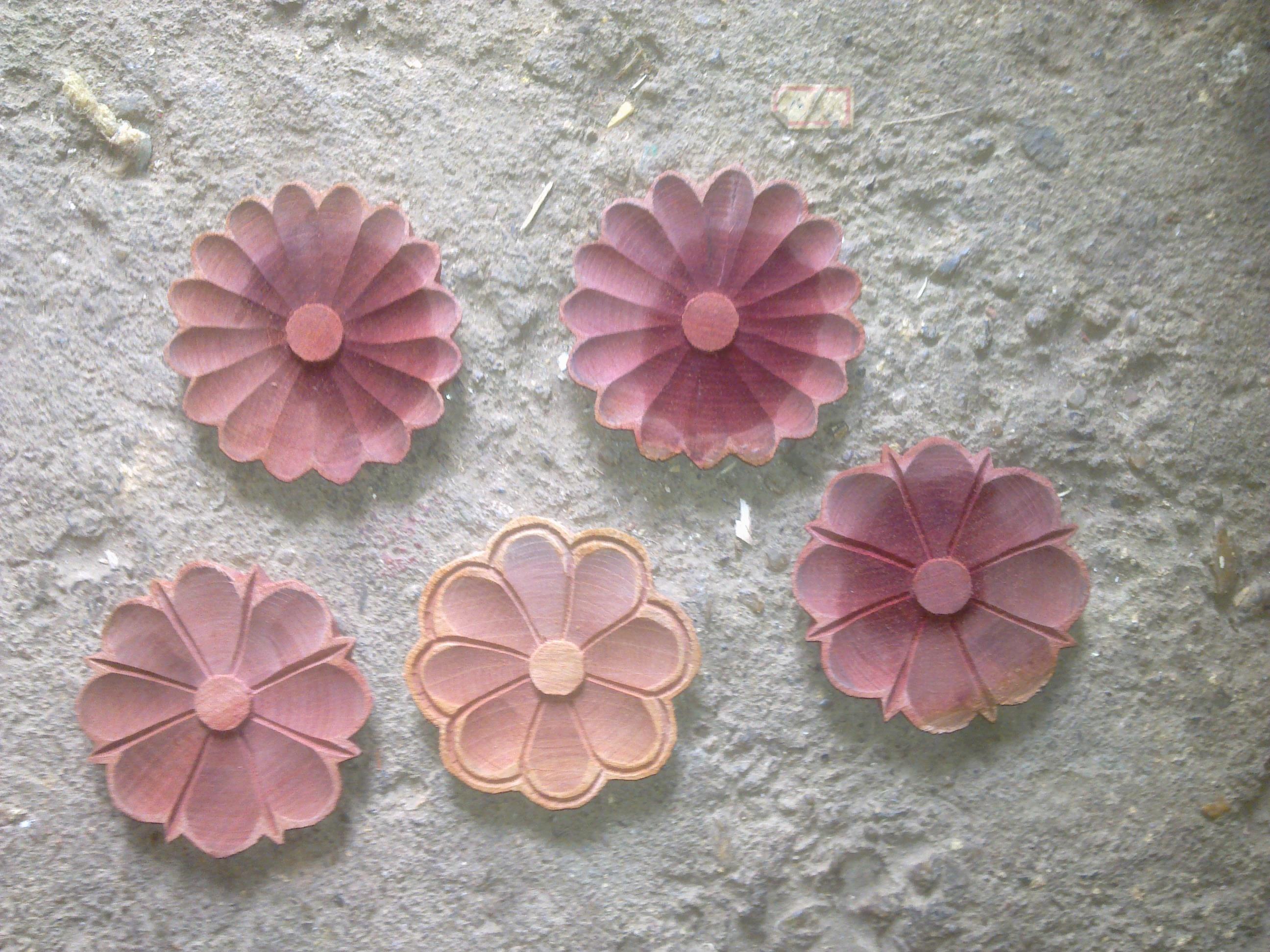 Artesanato Girassol Pedreira ~ flores em madeira serginho entalharte artesanato Elo7