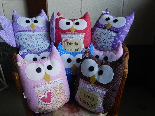 almofadas-de-corujas-presentes almofadas-de-corujas-maes
