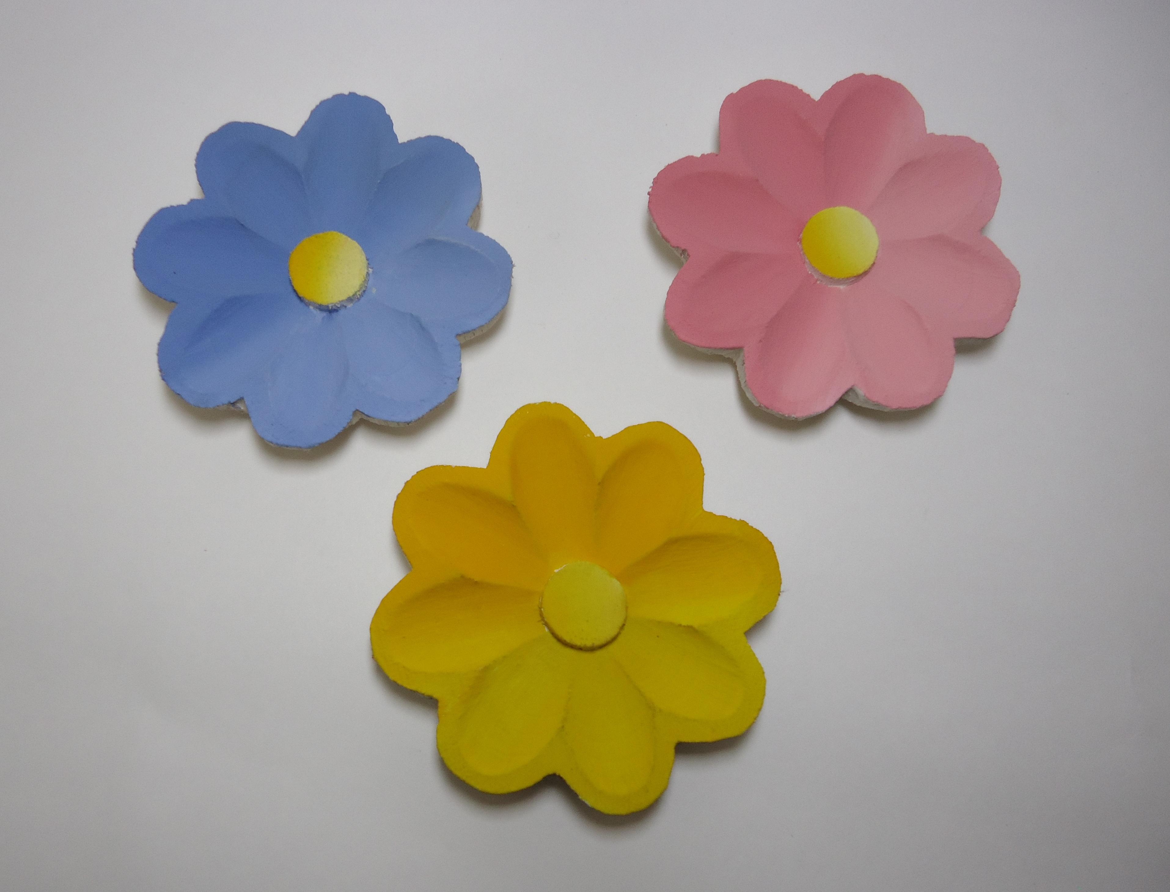 Flores de Madeira Pintada Elo7 #AE8906 3829x2919