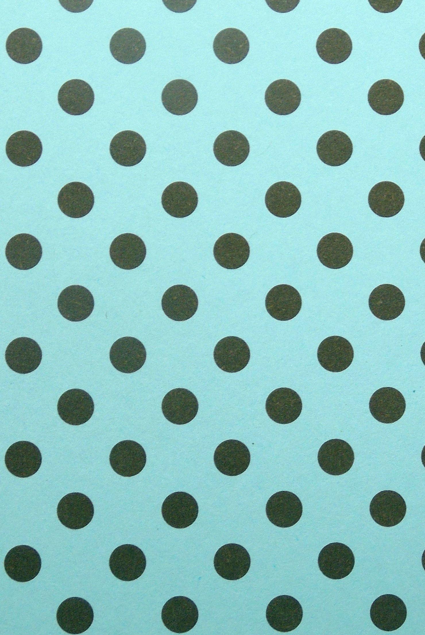 Papel azul de bolinhas marrons torre dpapel elo7 for Papel decorativo azul