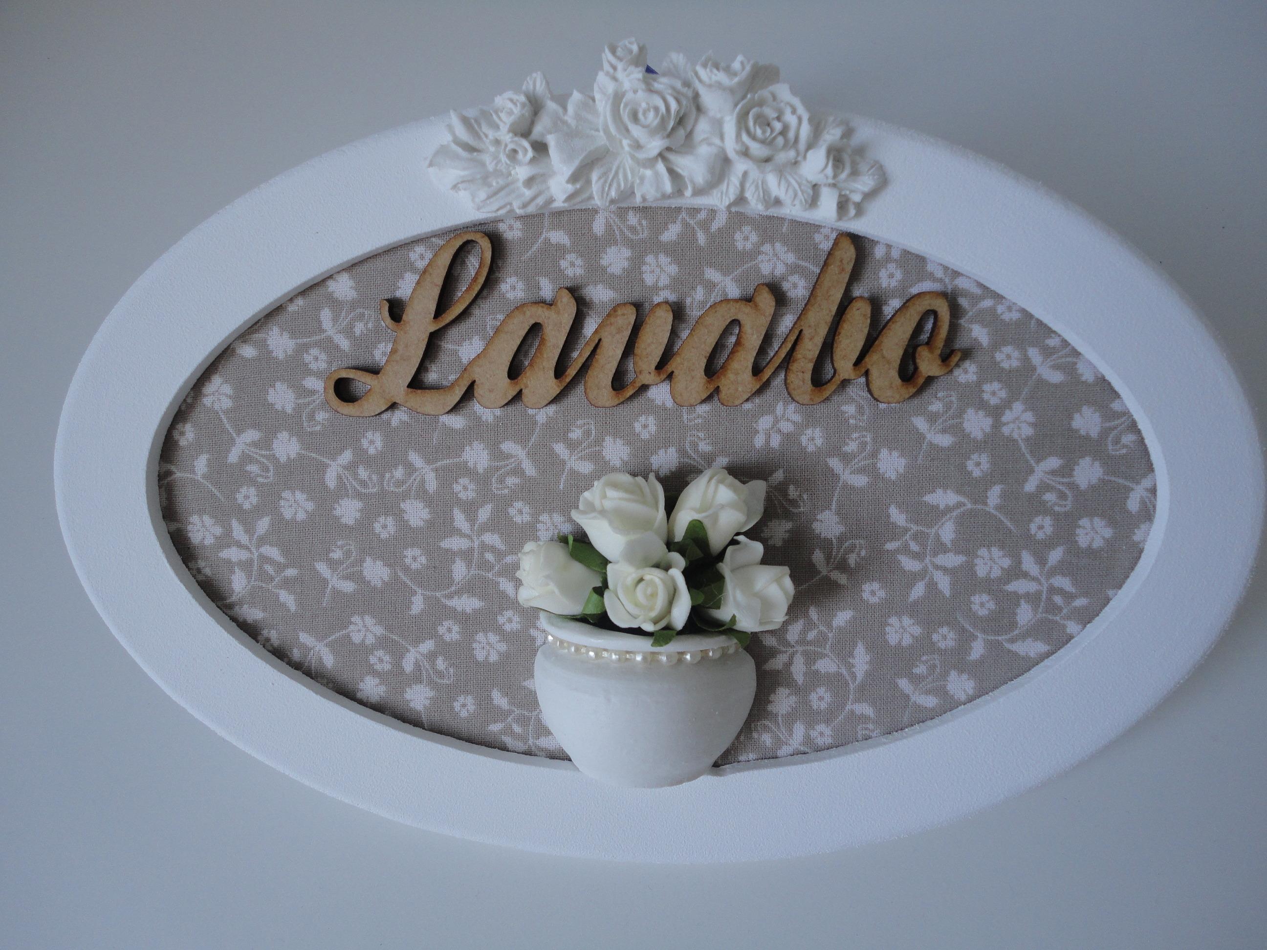 placa lavabo pronta entrega decoracao lavabo placa lavabo pronta  #614B37 2592 1944