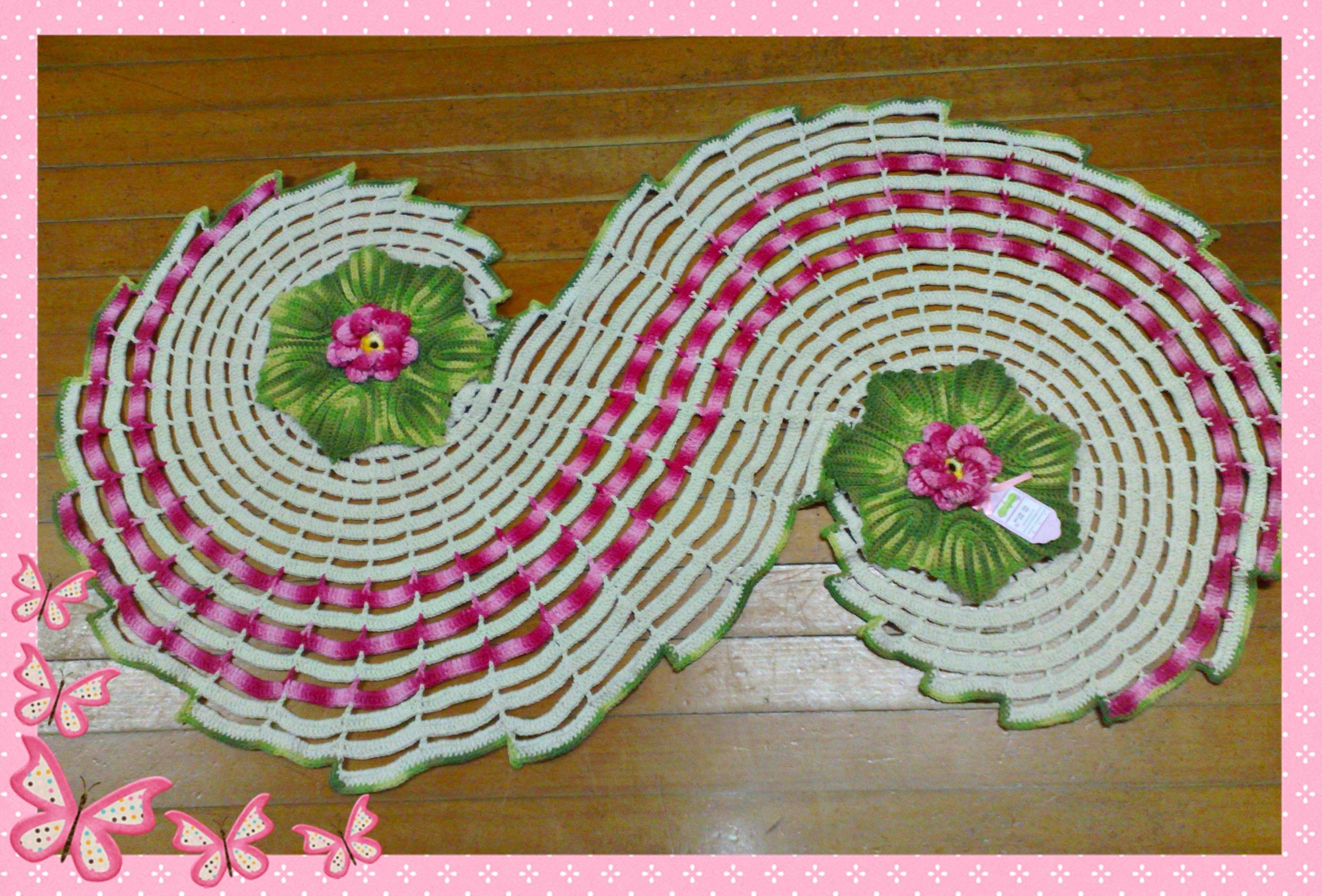 Tapete espiral rosa elo7 for Rosa tapete