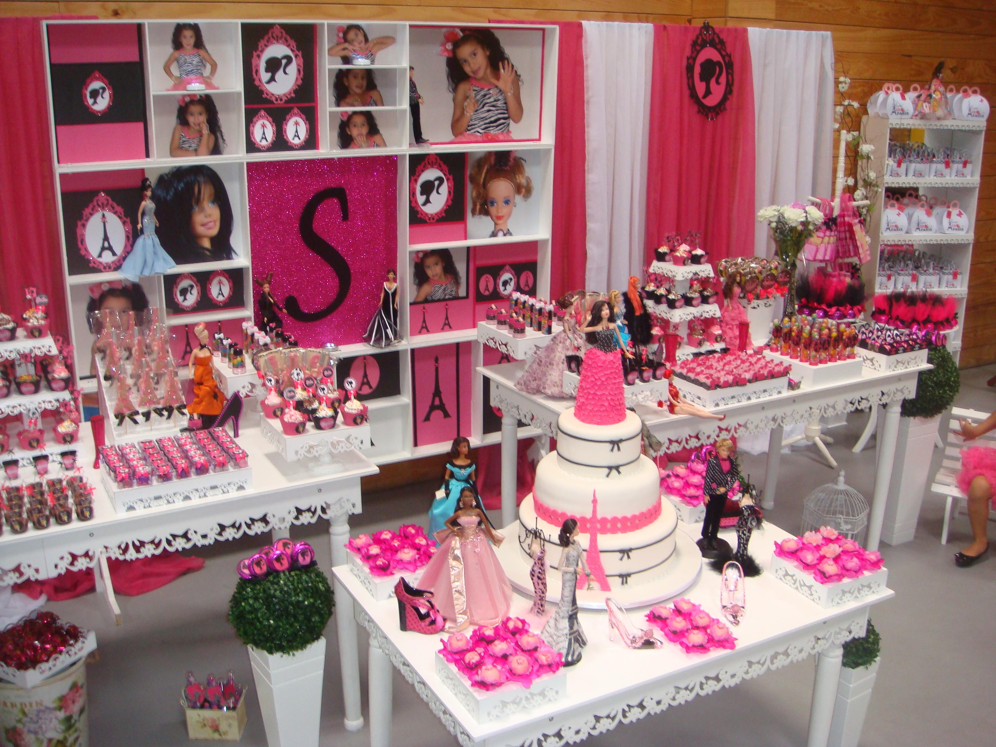 decoracao festa barbie:Festa provençal – Barbie em Paris