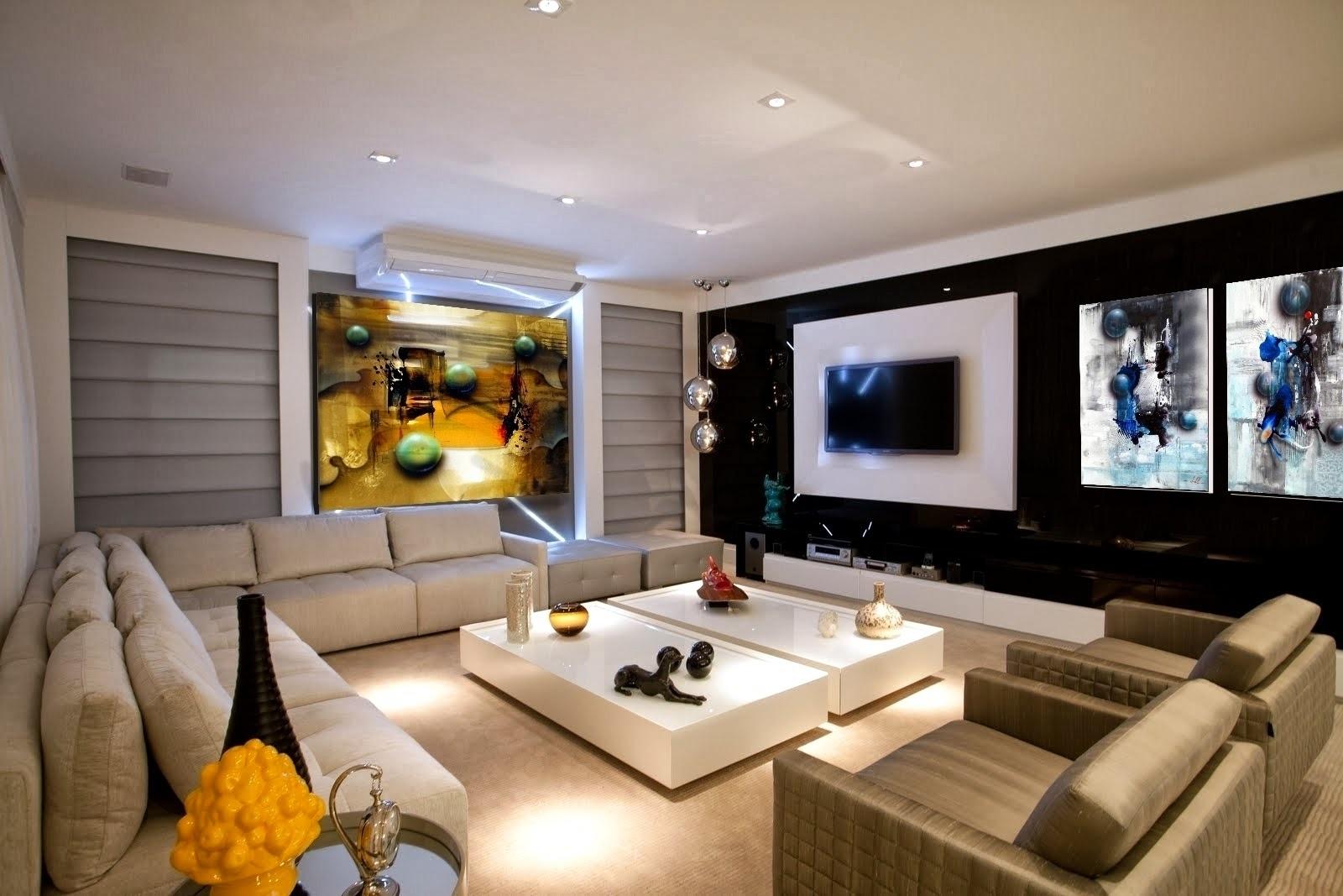 Pintura em estilo contemporaneo 12 elo7 for Ambientes modernos interiores