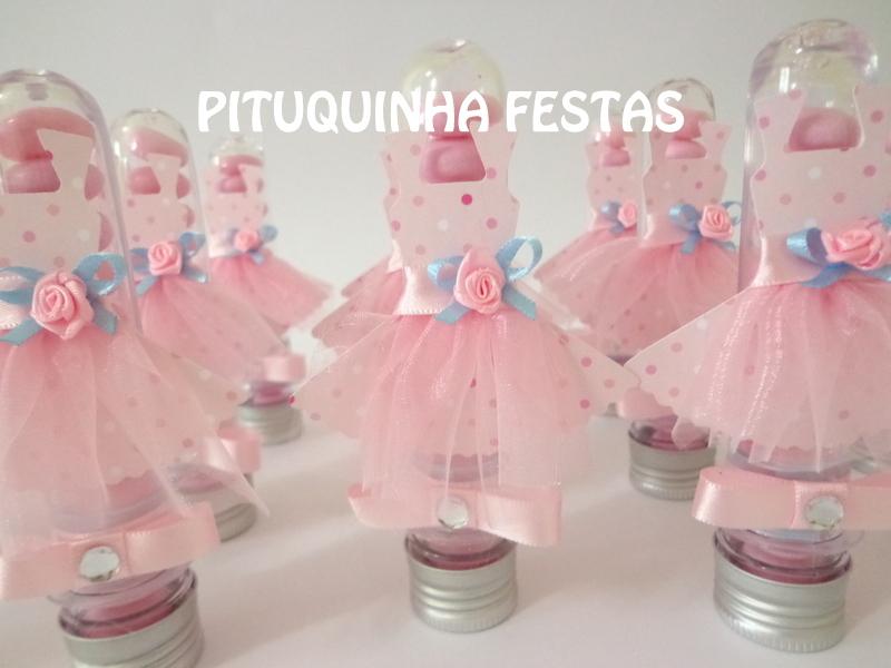 Artesanato Brasileiro No Exterior ~ Tubete Bailarina Pituquinha Festas Elo7