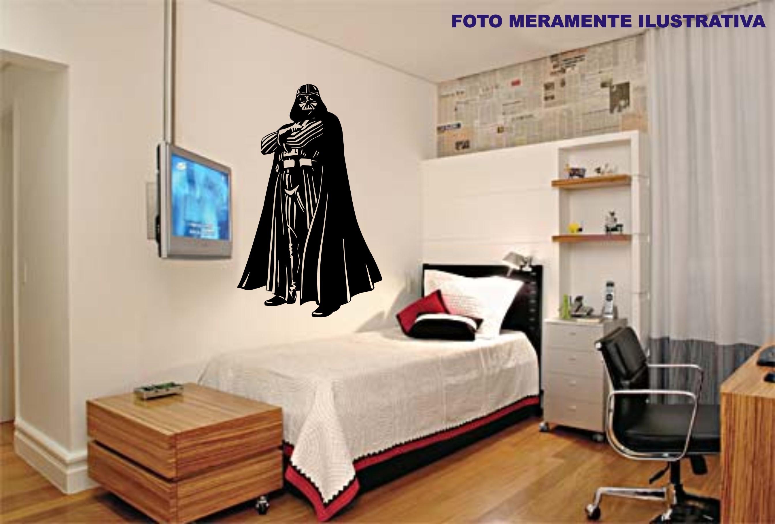 Adesivo Darth Vader Modelo 2 Star Wars  JAPA DECORAÇÃO  Elo7
