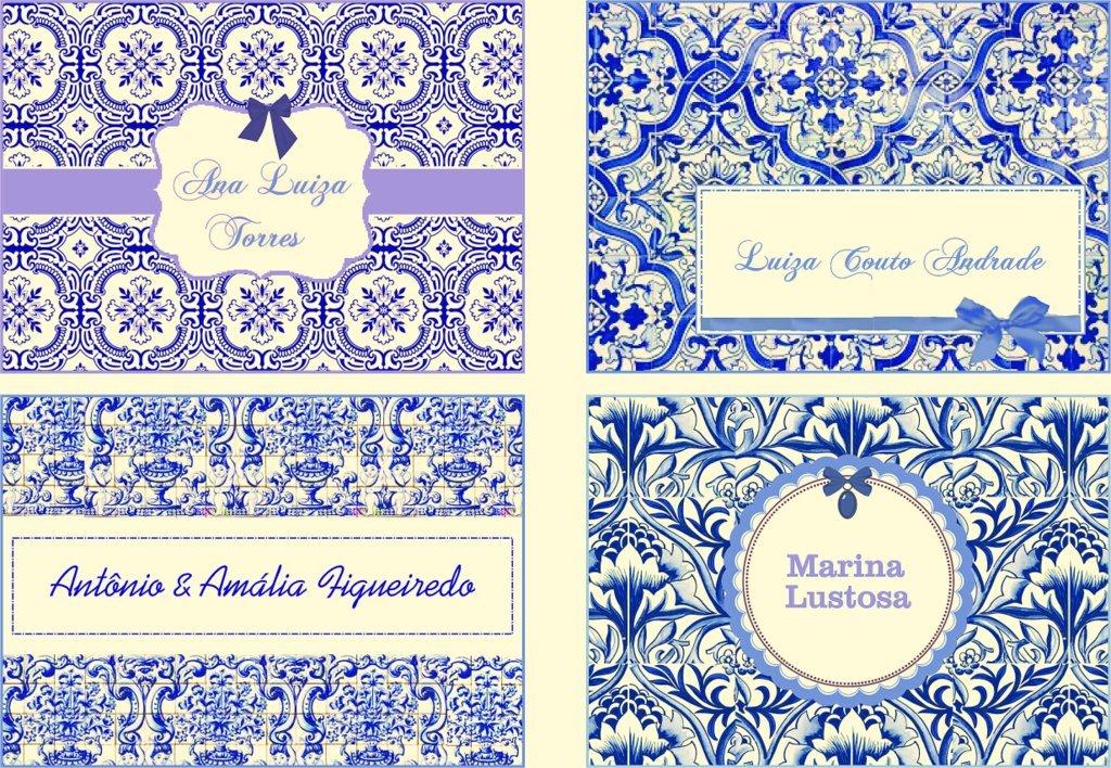 Kit cart es azulejo portugu s arte papel fl via elo7 for Papel para azulejos de bano
