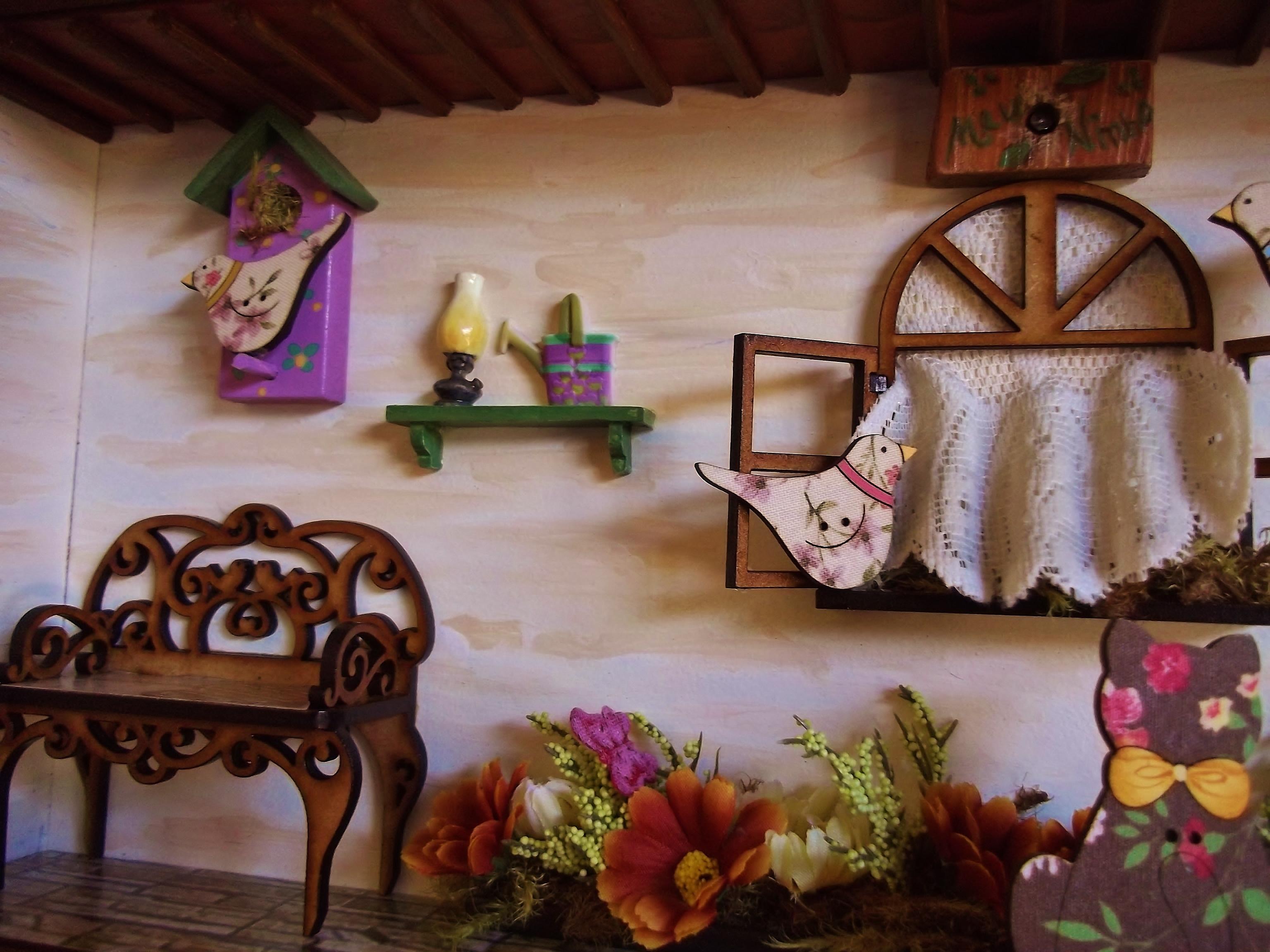 ideias jardim varanda: varanda-jardim-quadro-cenario quadro-cenario-varanda-jardim-decoracao
