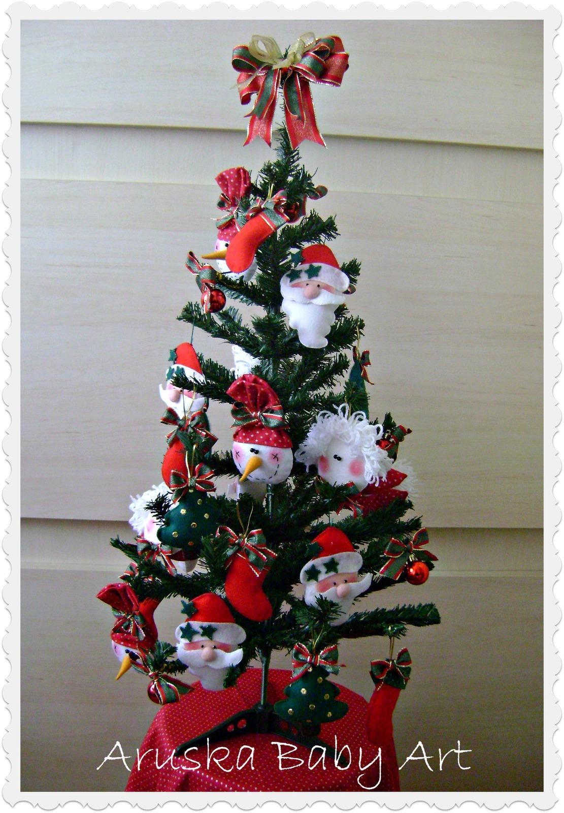 decorar uma arvore de natal:arvore-de-natal-decorada-decoracao arvore-de-natal-decorada-anjo