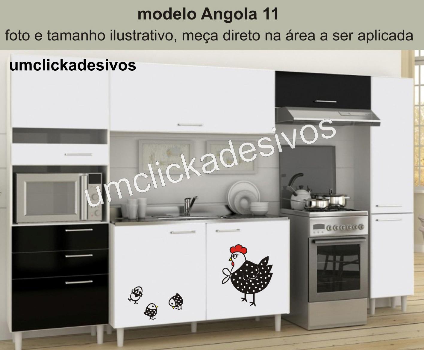 Adesivo Cozinha Galinha Angola 11 Adesivo Cozinha Galinha Angola 11