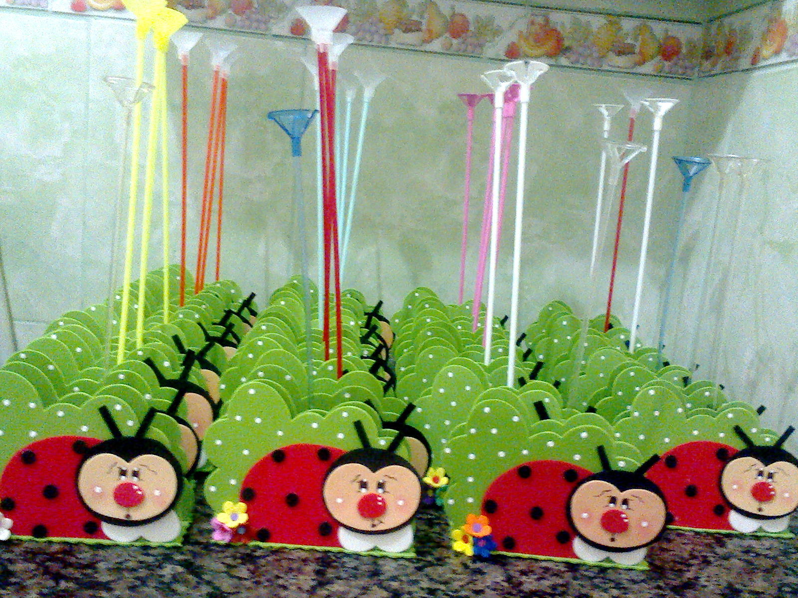 decoracao de festa infantil jardim das joaninhas:porta guardanapo joaninha festa infantil porta guardanapo joaninha