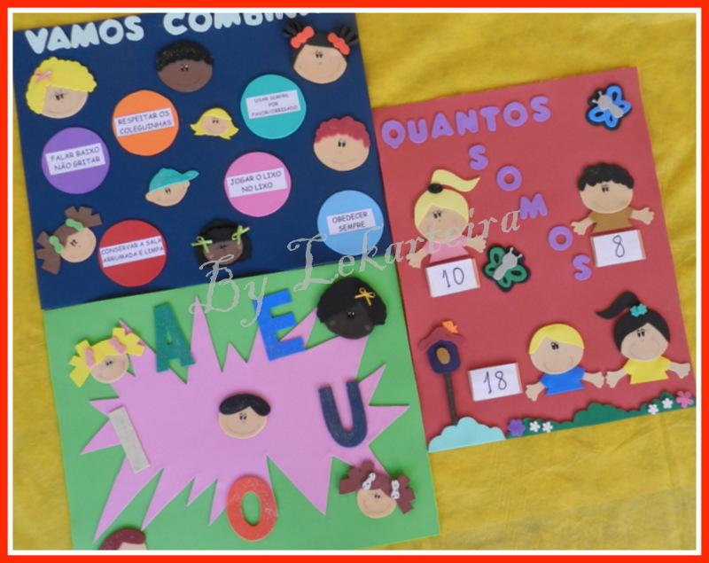 decoracao de sala aula em eva : decoracao de sala aula em eva:cartazes-de-carinhas-de-criancas-decoracao-de-sala-de-aula-em-eva