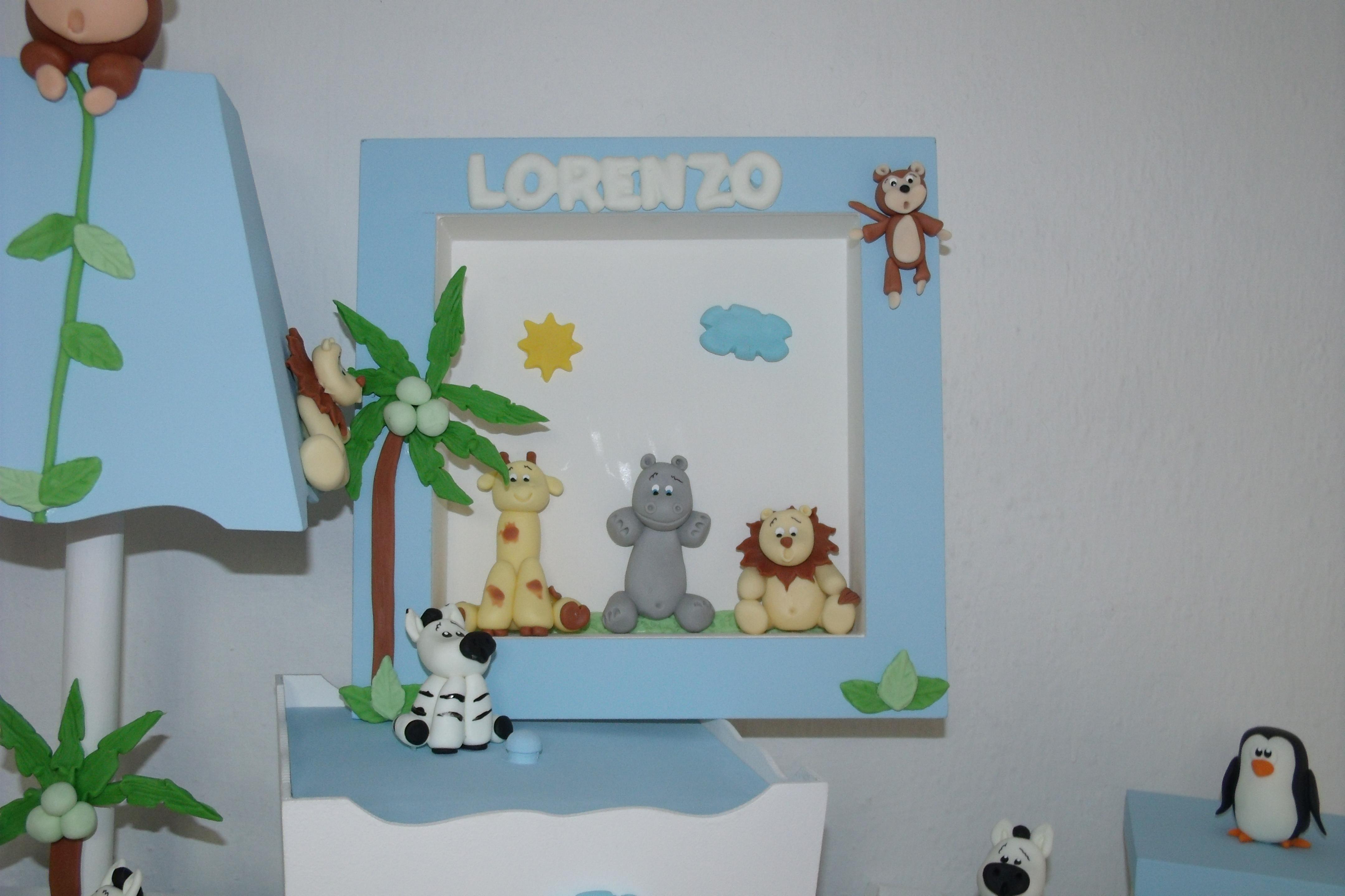 Quadros Para Quarto De Bebe Safari ~ kit quarto de bebe safari biscuit kit quarto de bebe safari bichinhos