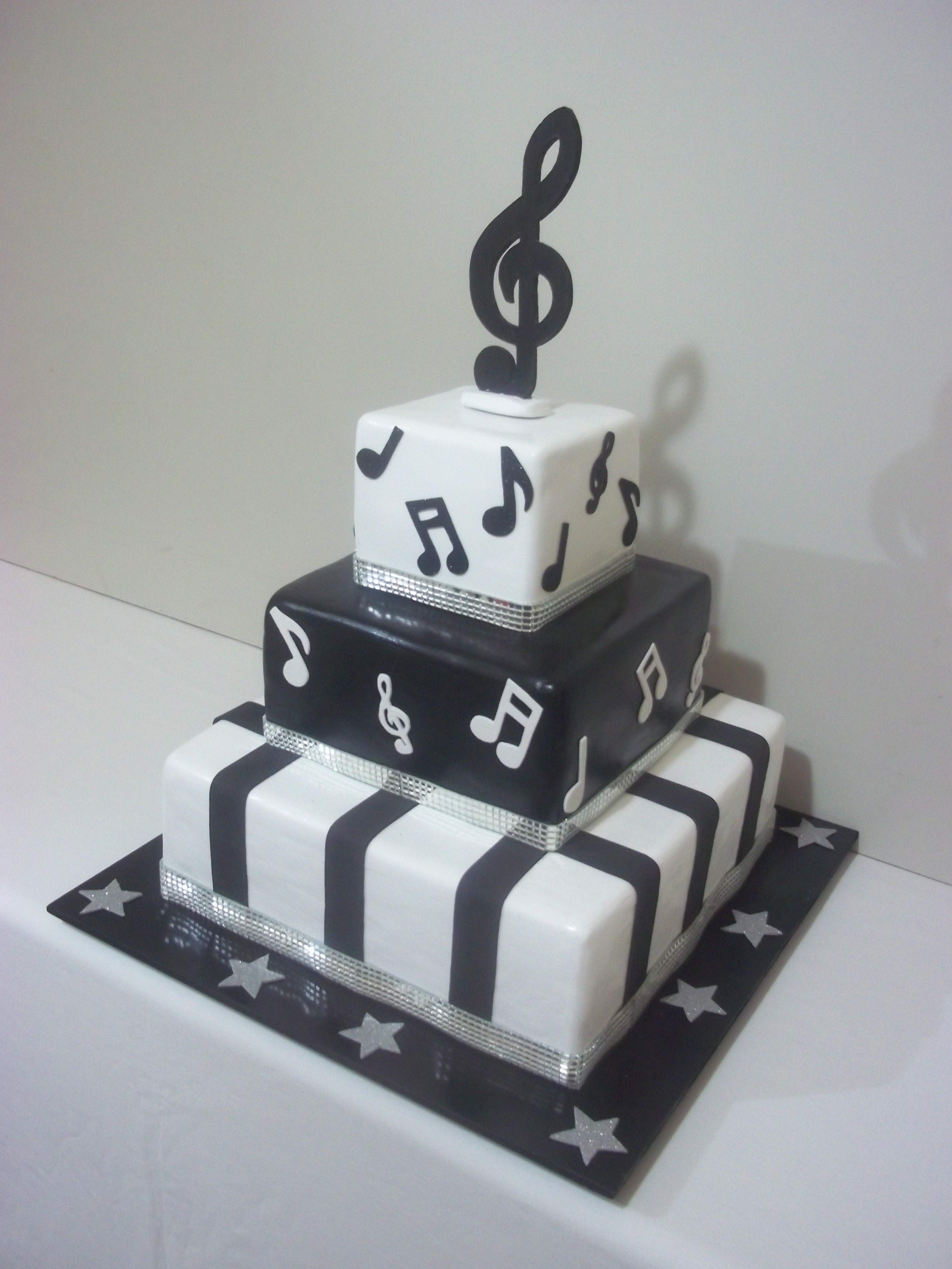decoracao festa notas musicais:bolo cenografico de notas musicais bolo cenografico de notas musicais