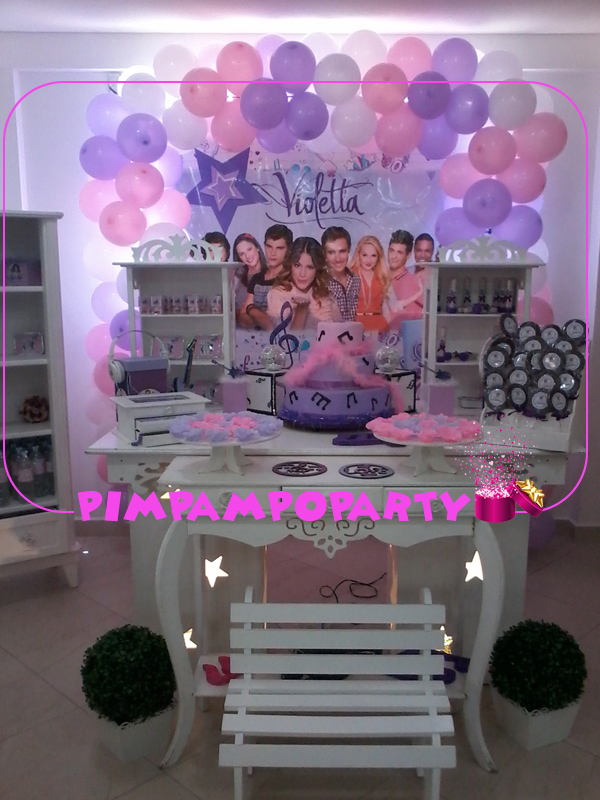 decoracao festa violeta:mesa-provencal-violetta-festa-da-violetta