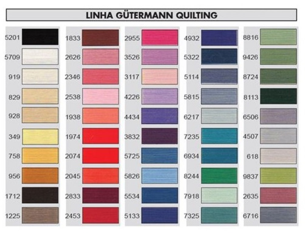 Gutermann Embroidery Thread Color Chart Ausbeta