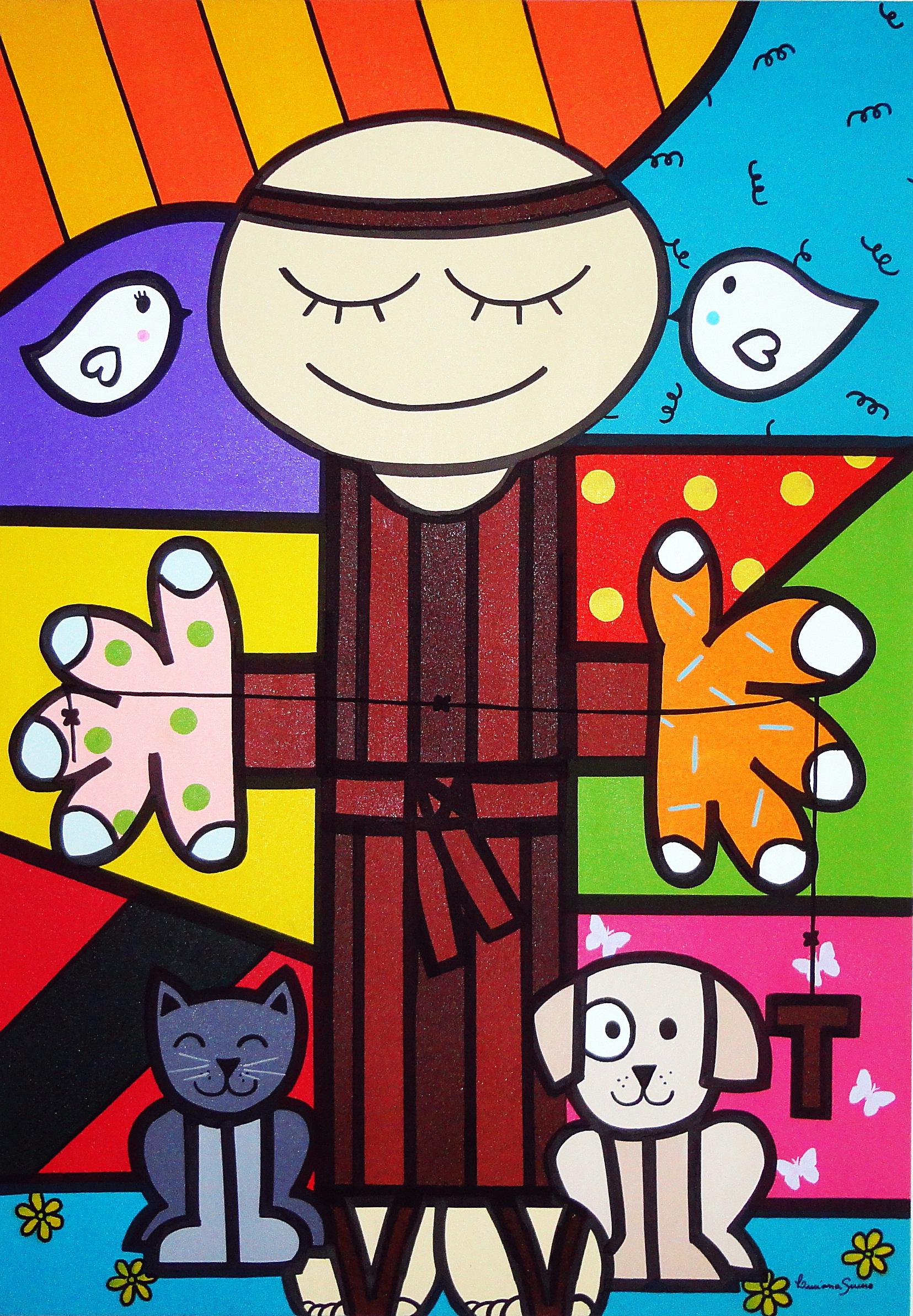 com Animais ATELIÊ DE ARTES PLÁSTICAS BY LUCIANA SEVERO Elo7 #059AC6 1655x2385