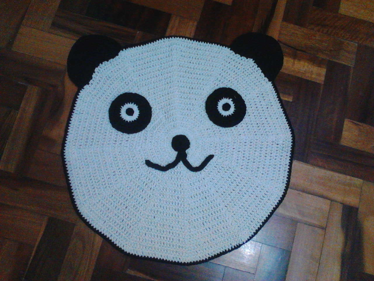Tapete Urso Panda Lembrart Artesanato Elo7 ~ Tapete Infantil Para Quarto Urso