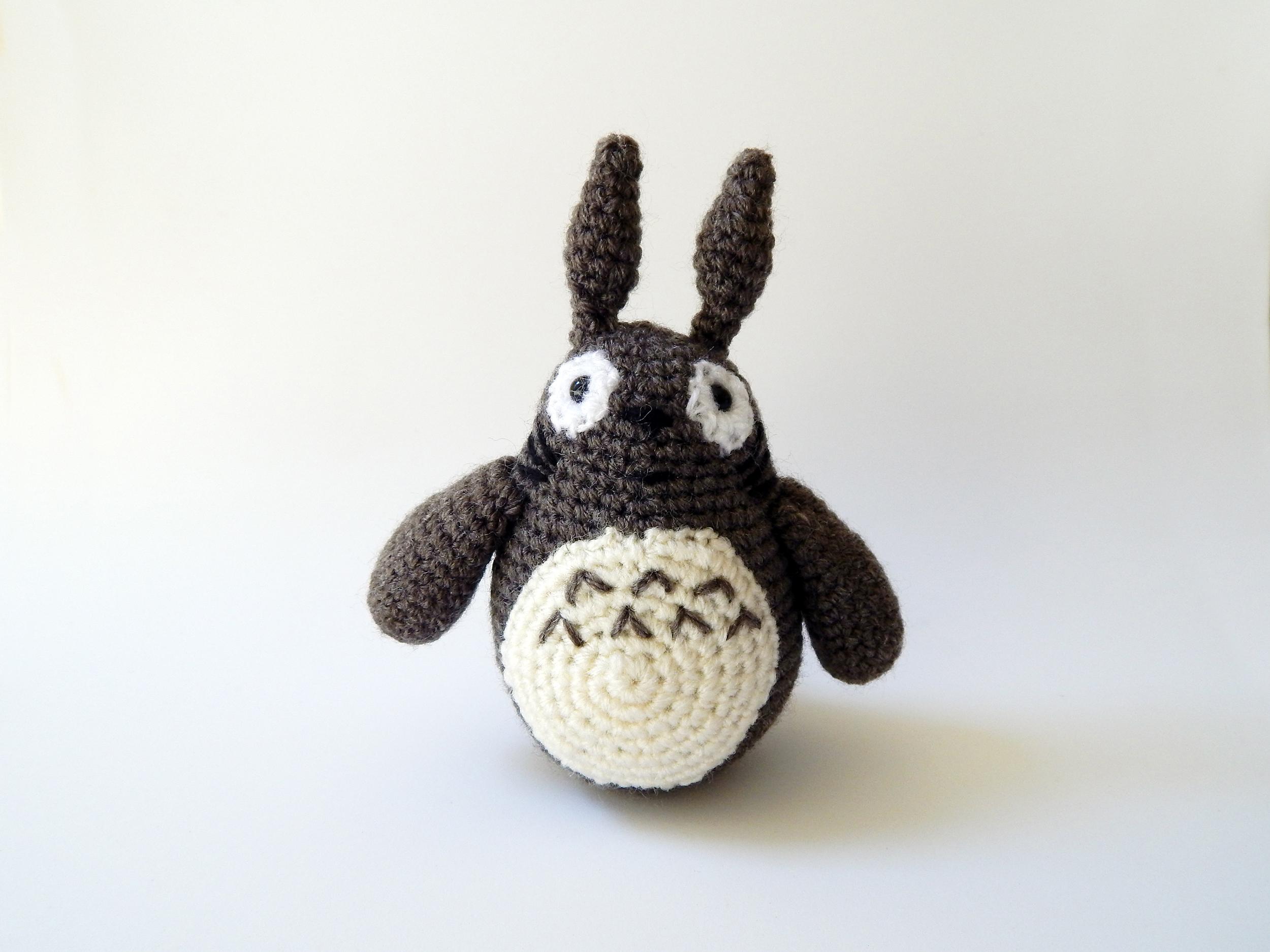 Amigurumi Totoro Icedeb Elo7