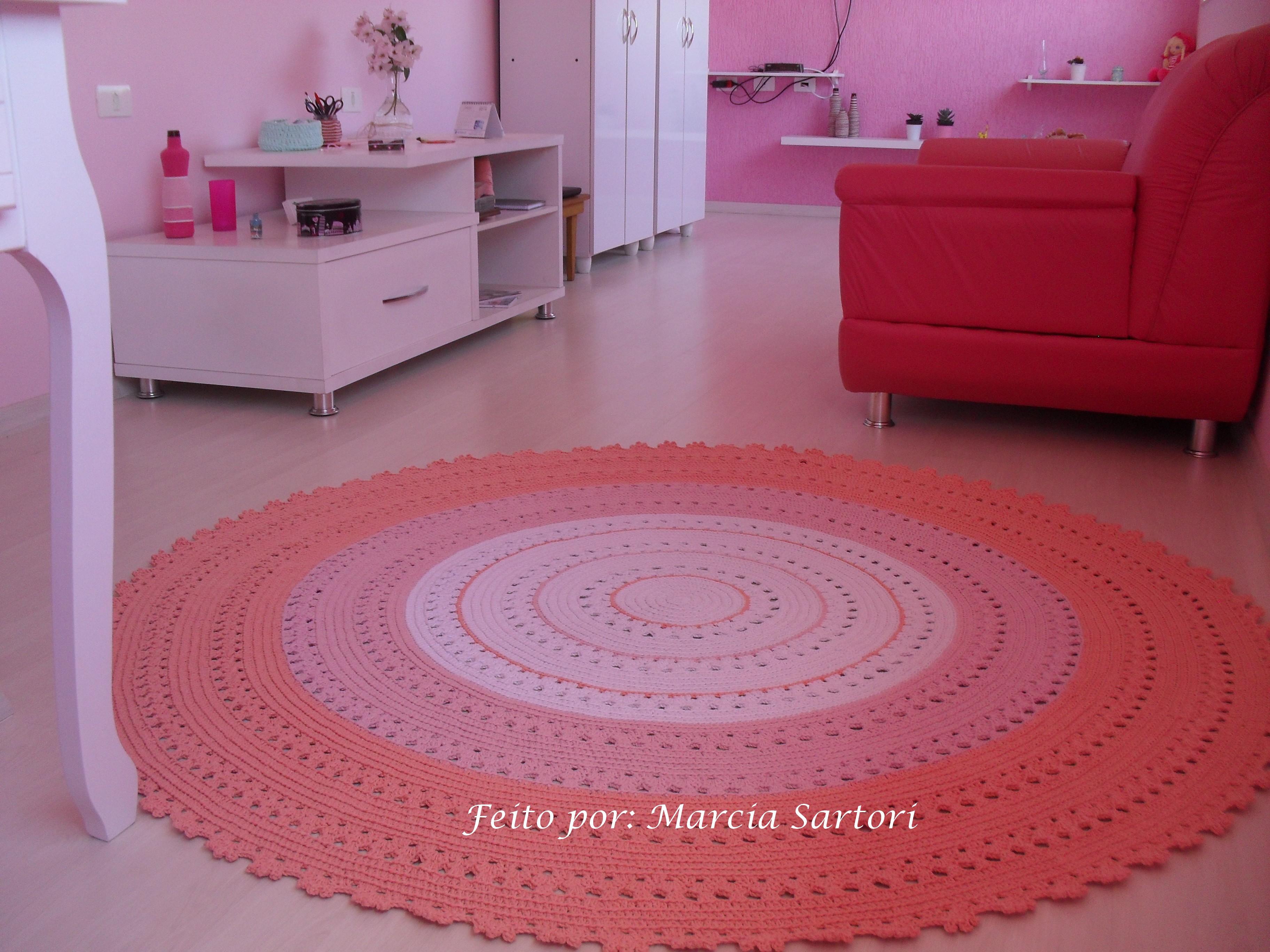 Tapete infantil para quarto rosa