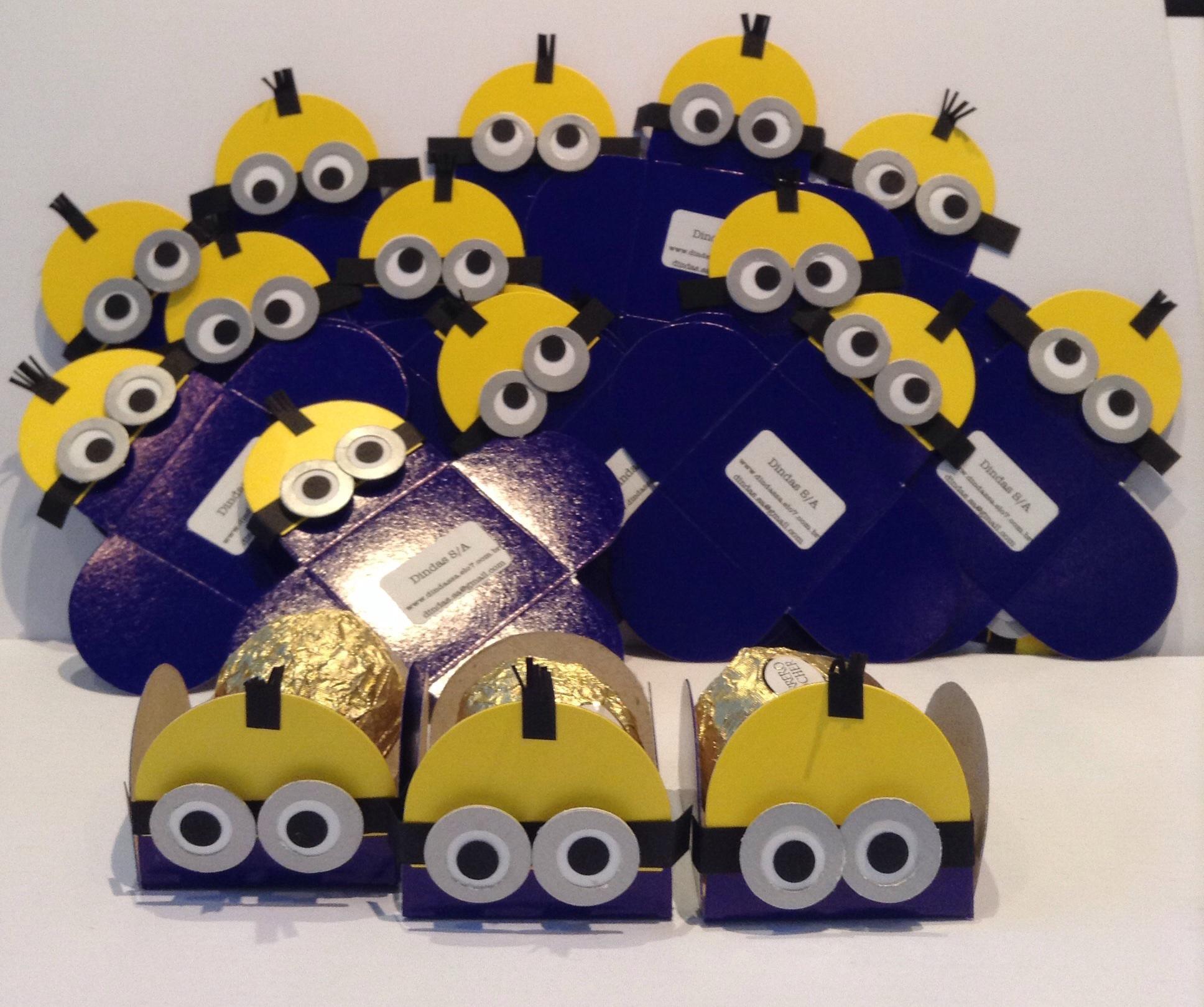 decoracao festa minions : decoracao festa minions:Forminha Festa dos minions